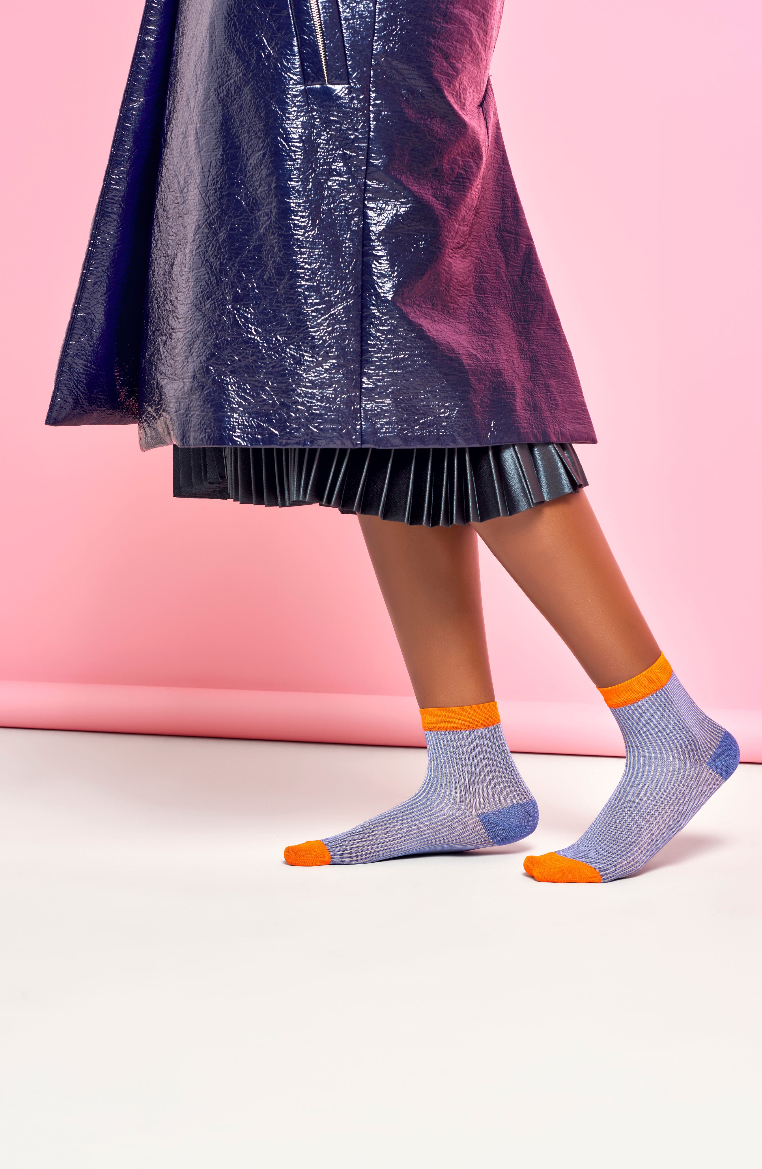 Alternate Image 2  - Hysteria by Happy Socks Rita Ankle Socks