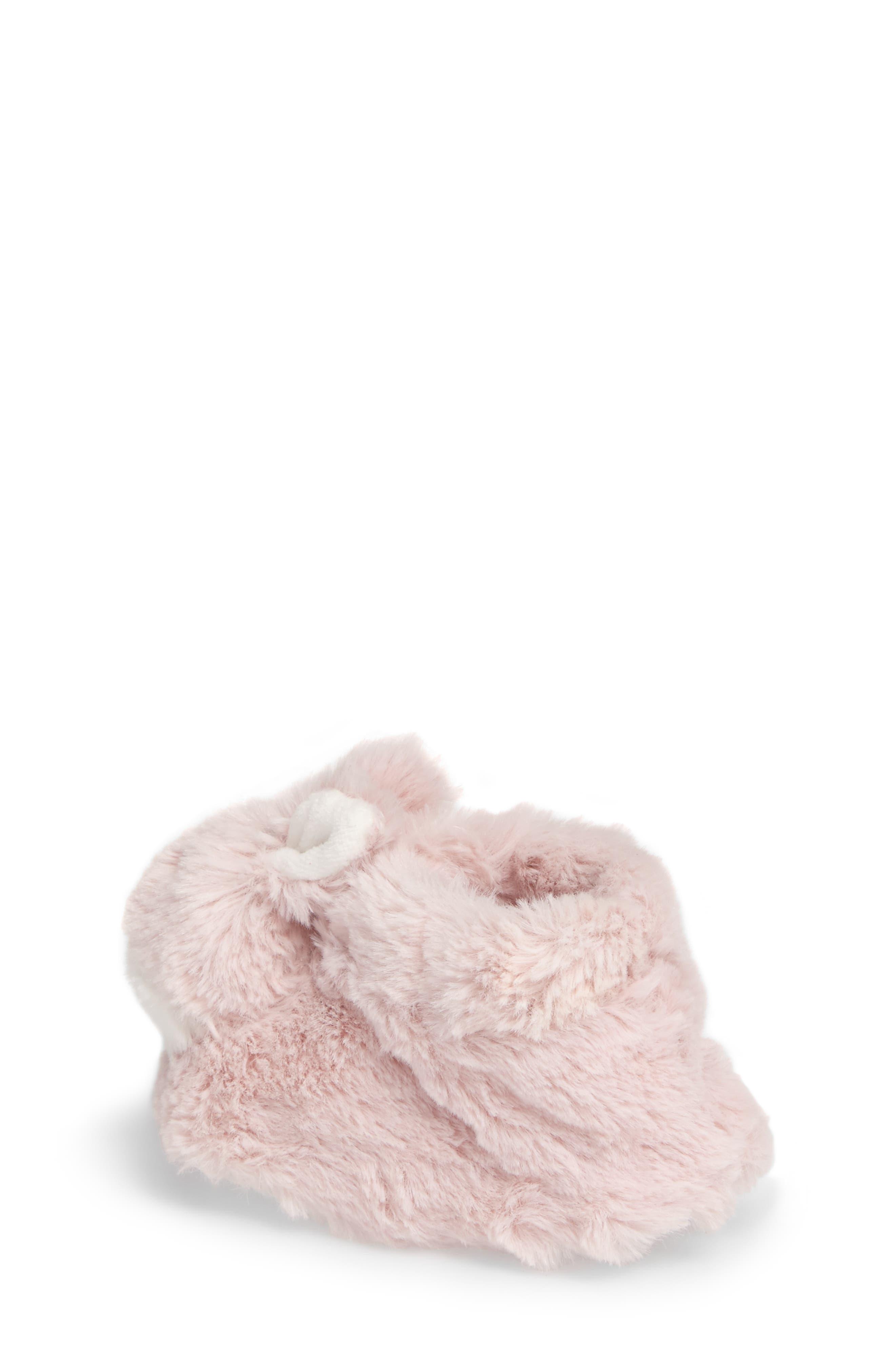 Plush Animal Slipper,                             Alternate thumbnail 2, color,                             Pink Bunny