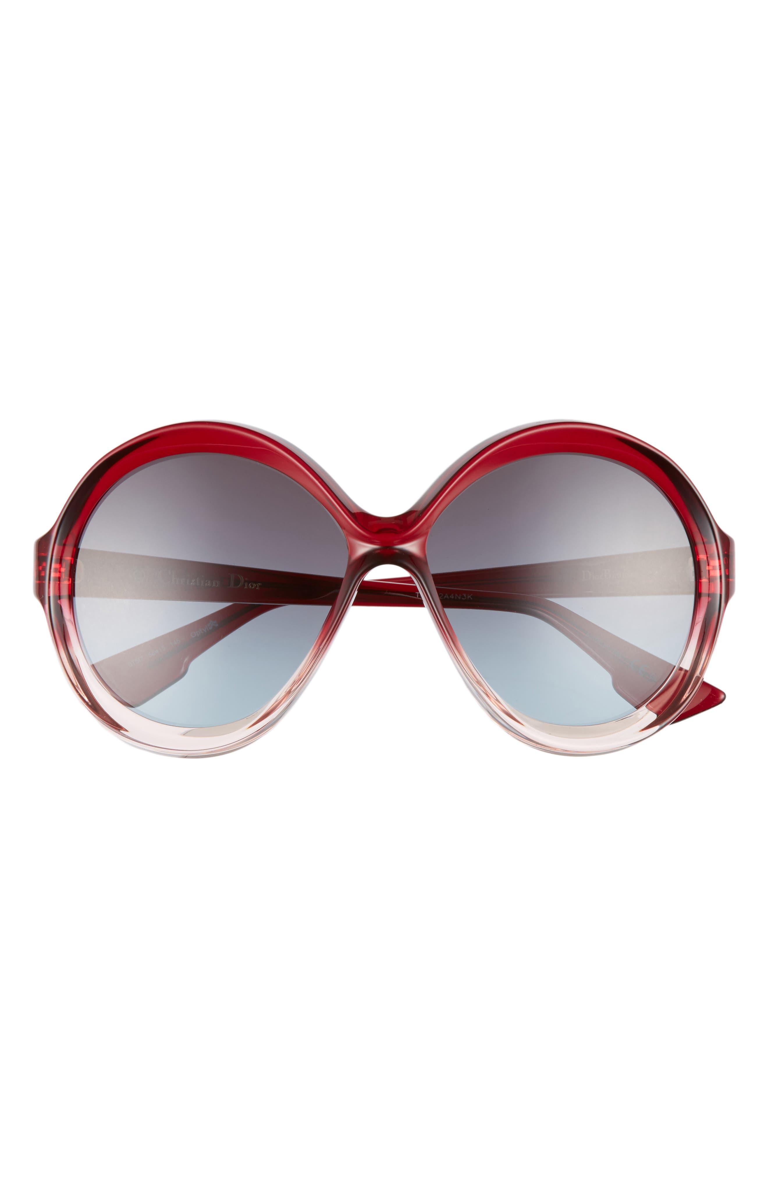 Alternate Image 3  - Dior Bianca 58mm Round Sunglasses