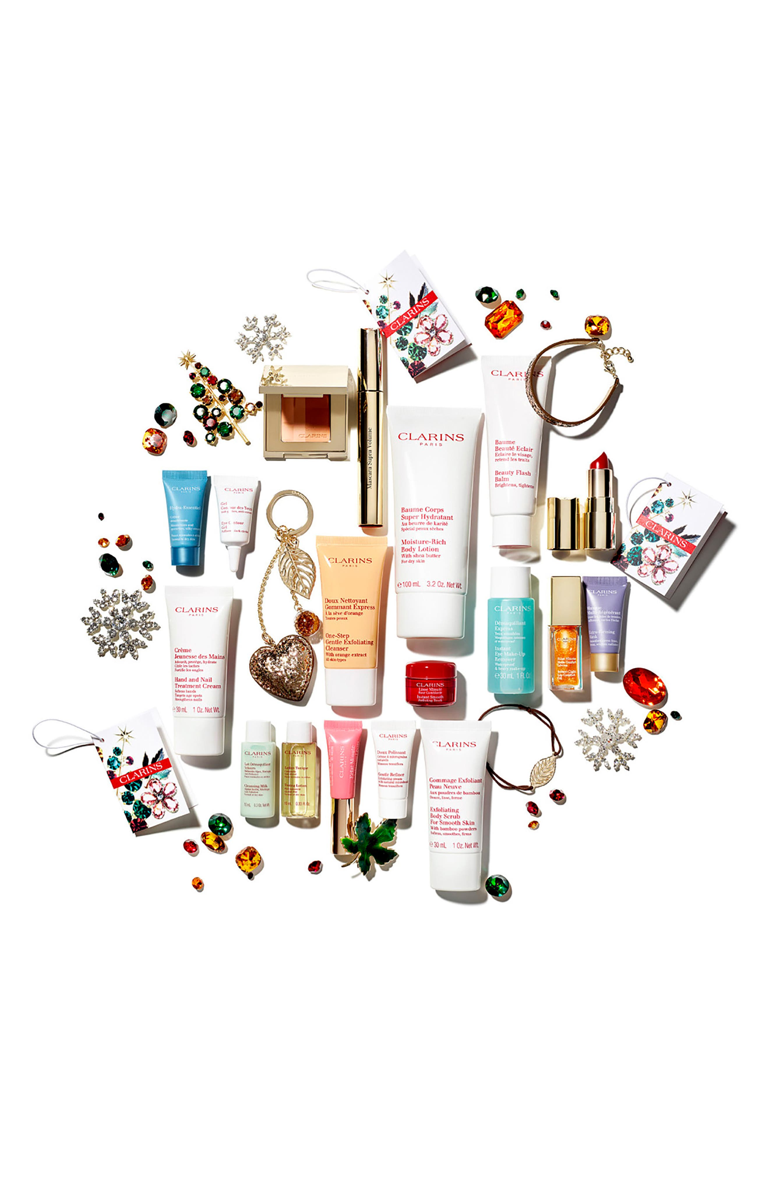Alternate Image 2  - Clarins Advent Calendar Collection (Over $218 Value)