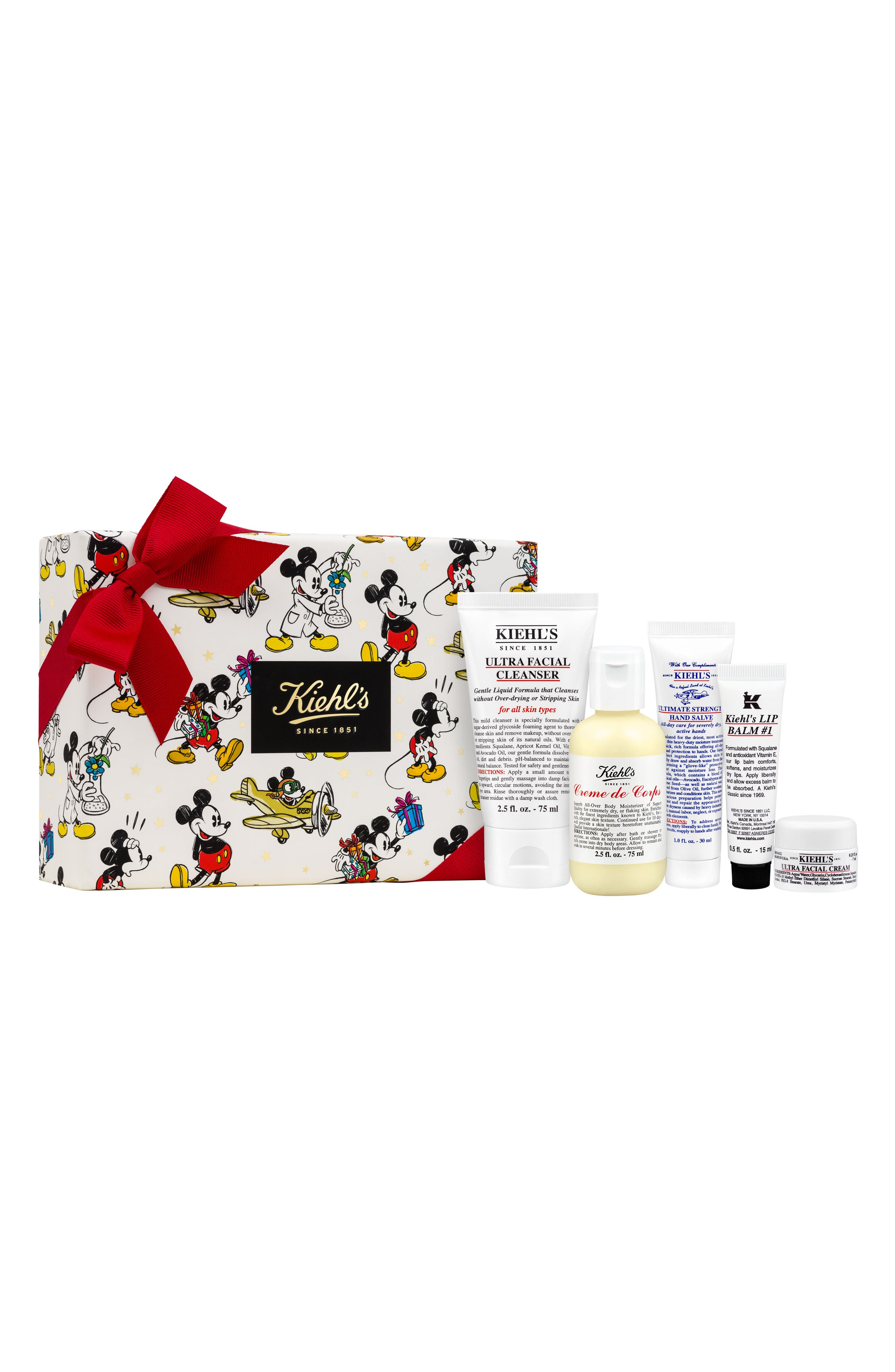 Disney x Kiehl's Since 1851 Hydration Essentials Collection ($36 Value)