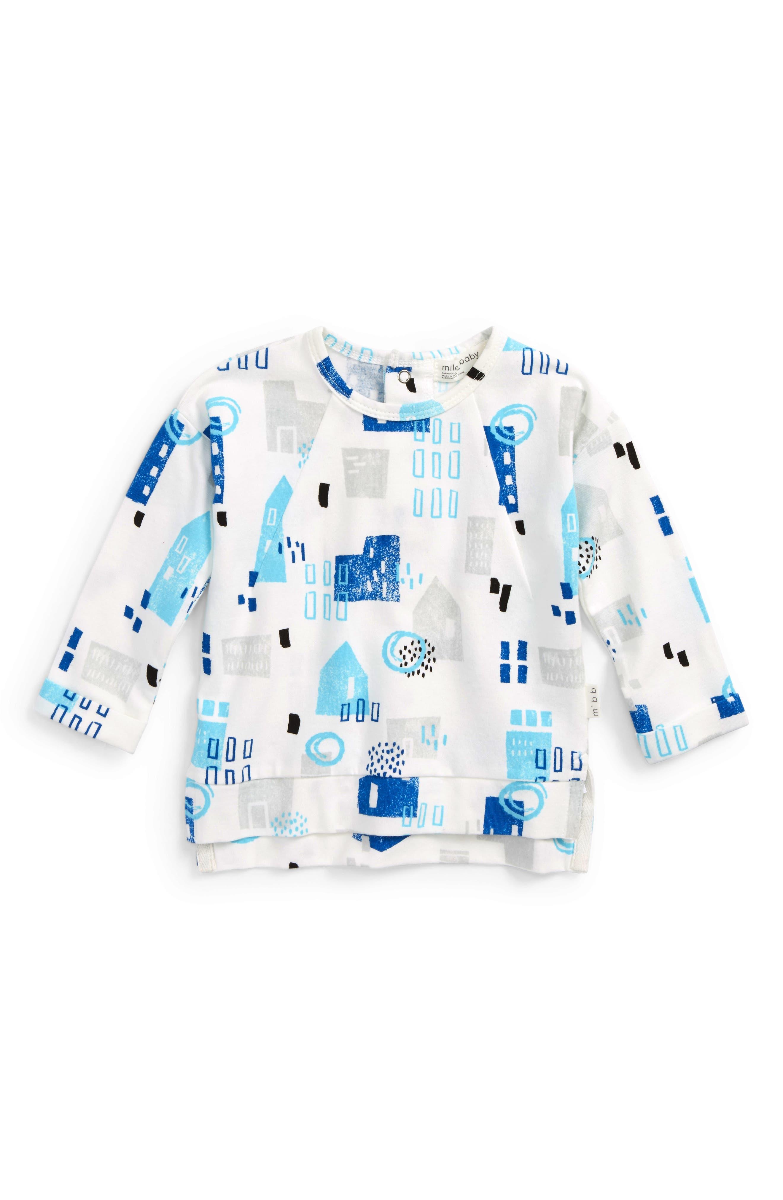 Main Image - Miles Baby Print T-Shirt (Baby Boys)