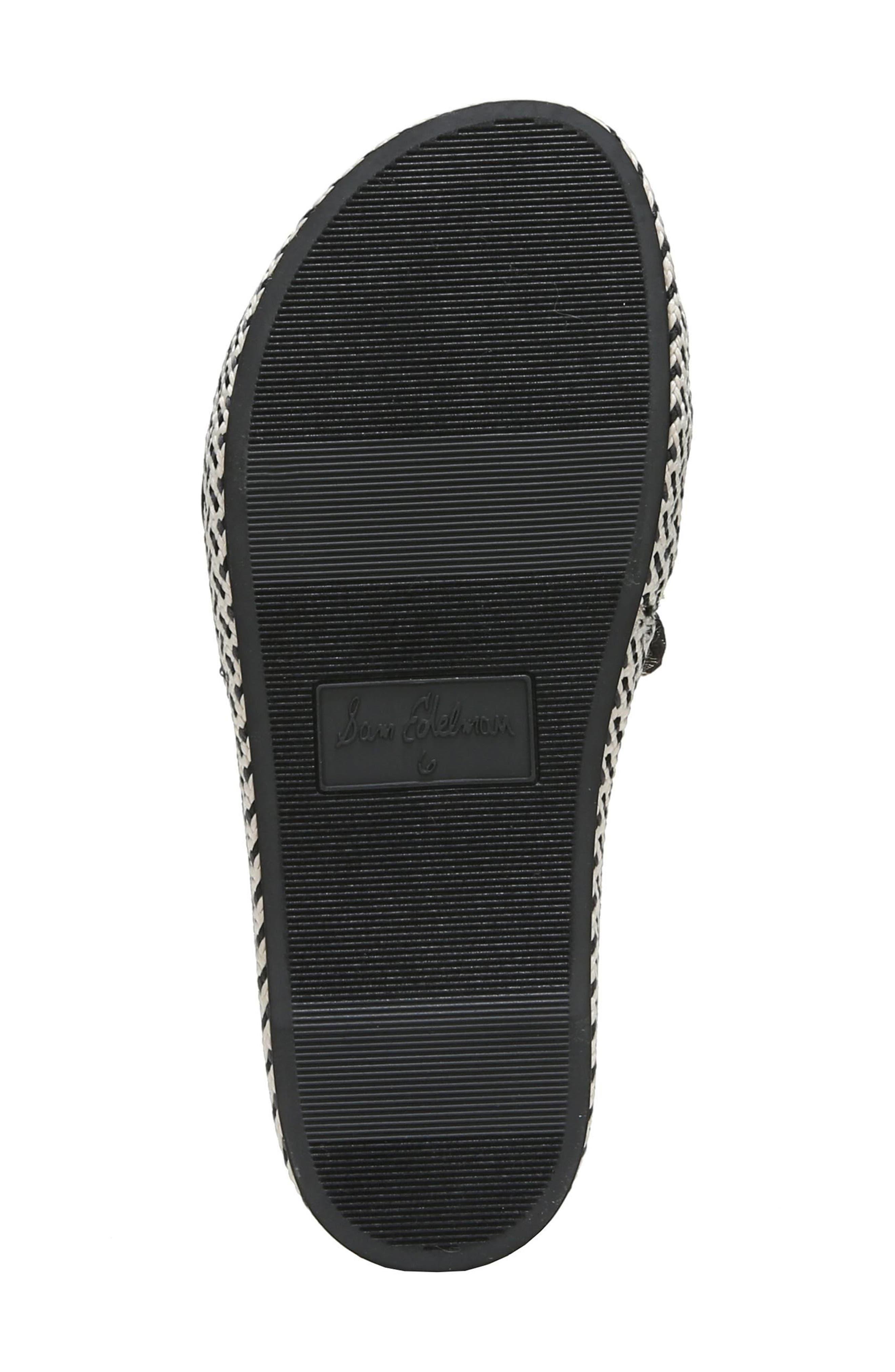 Bodie Slide Sandal,                             Alternate thumbnail 6, color,                             Black Floral Brocade