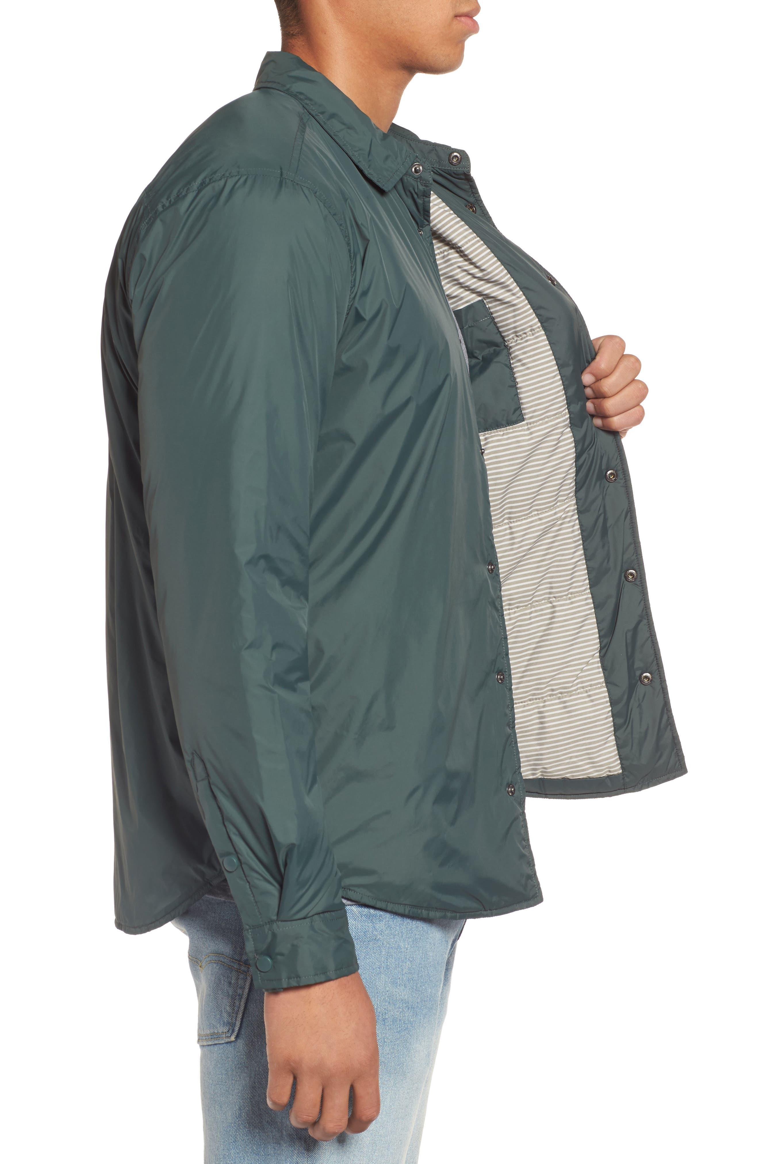 Portland Jacket,                             Alternate thumbnail 3, color,                             Vintage Green