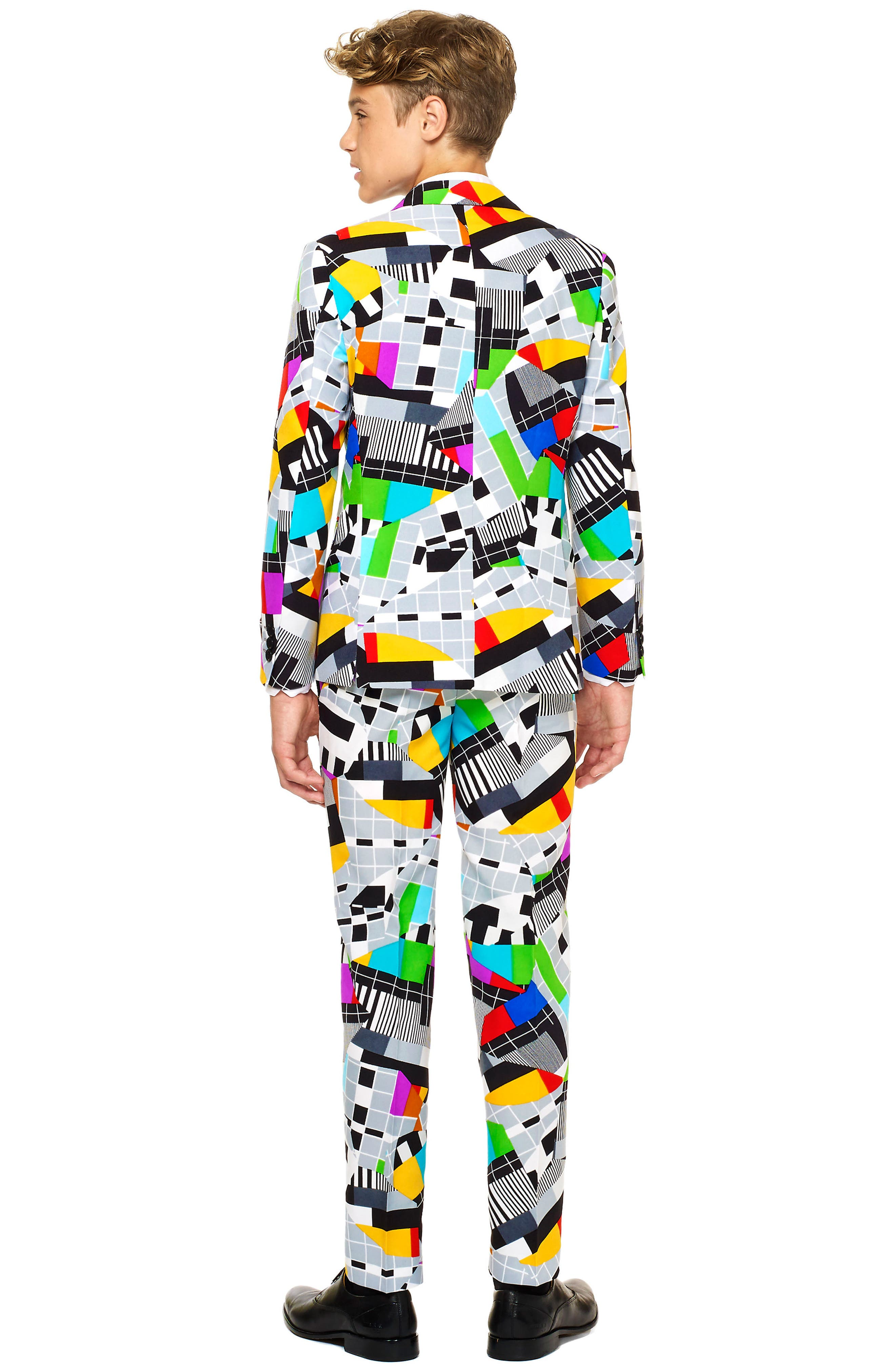 Oppo Testival Two-Piece Suit with Tie,                             Alternate thumbnail 2, color,                             Miscellaneous