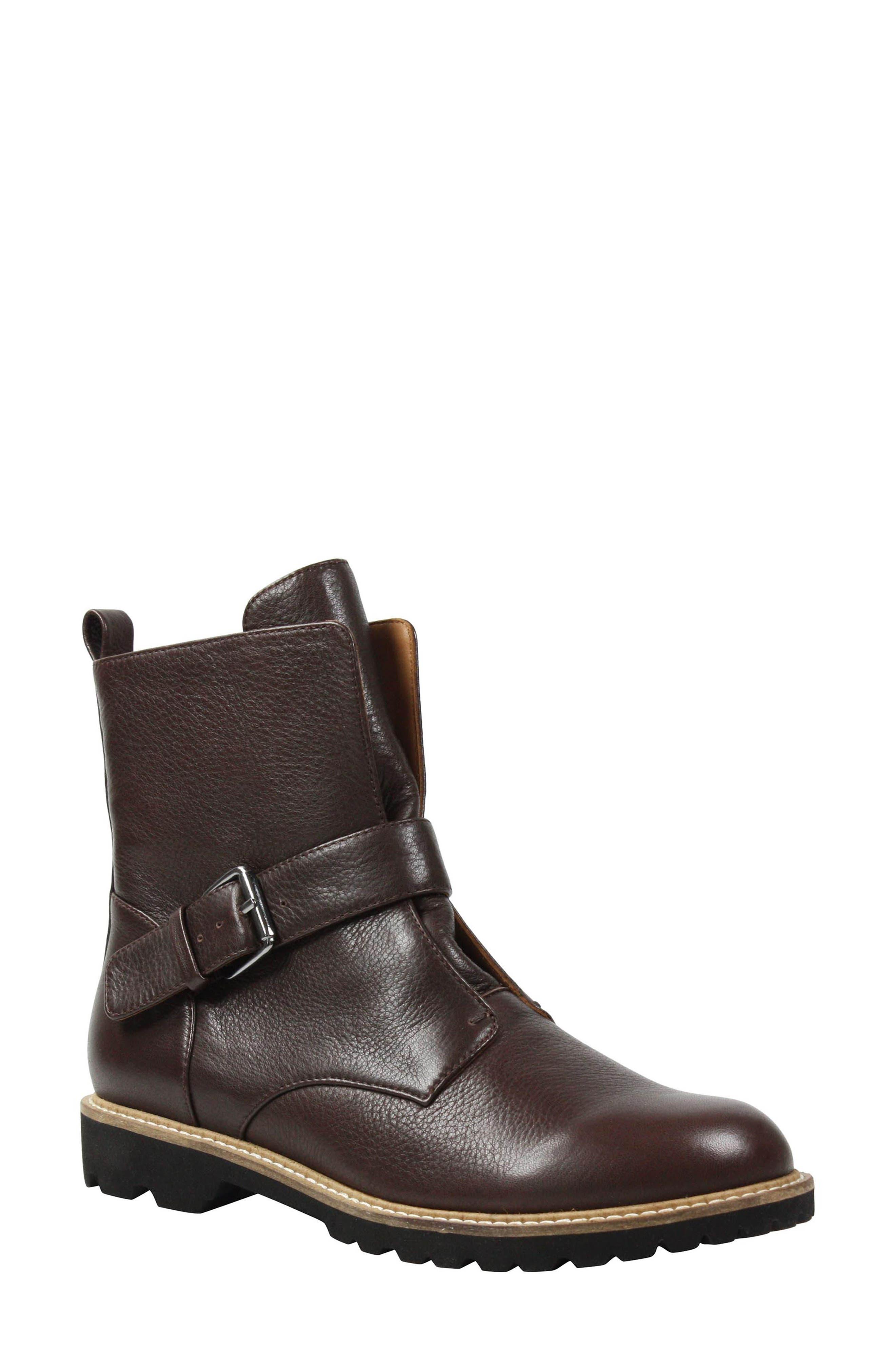 Rapolano Boot,                         Main,                         color, Moro Leather