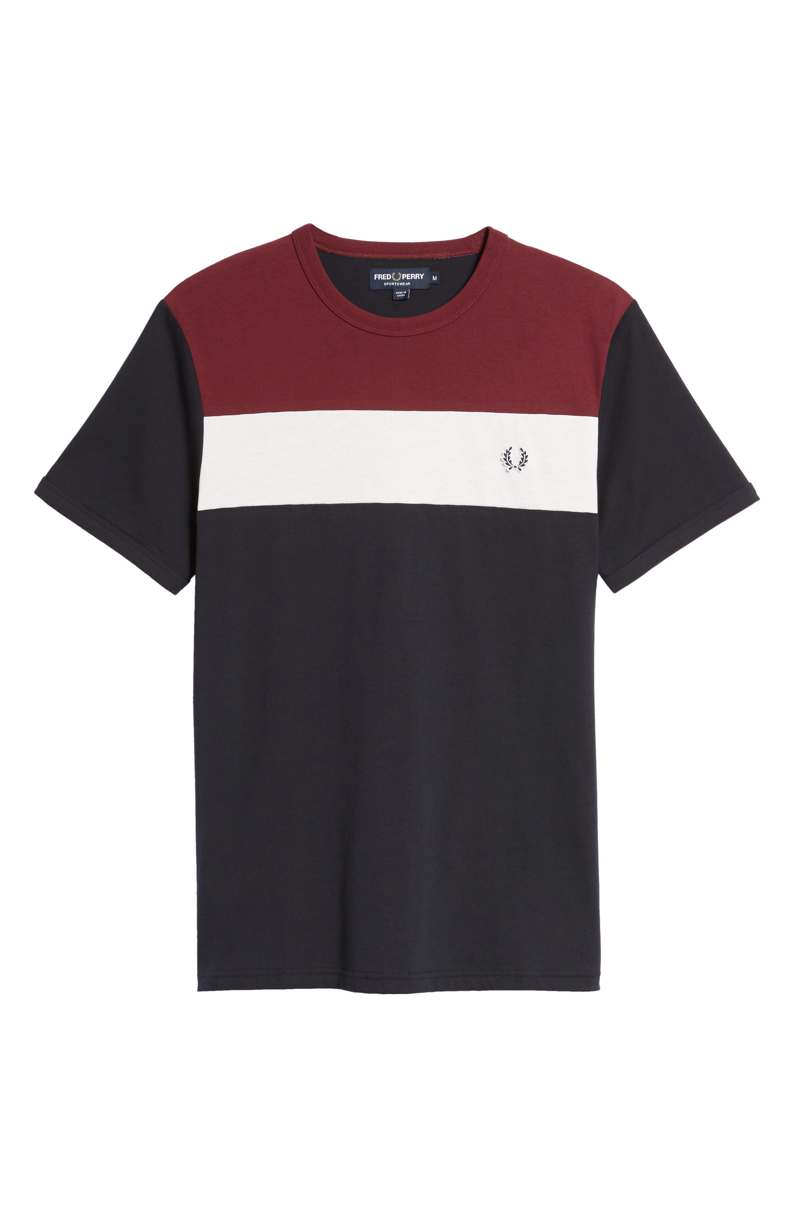 Colorblock T-Shirt,                             Alternate thumbnail 5, color,                             Navy