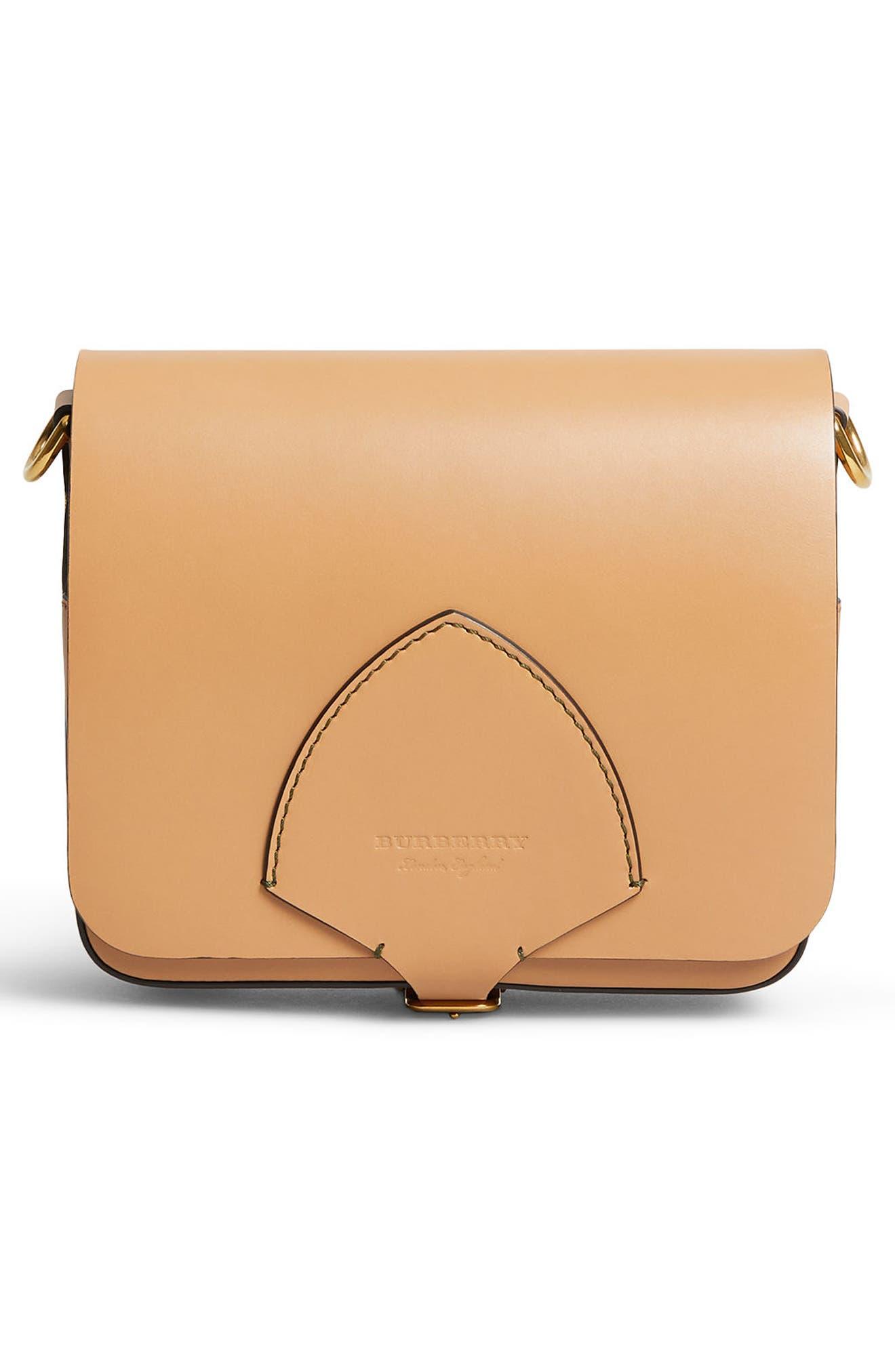Alternate Image 4  - Burberry Leather Shoulder Bag