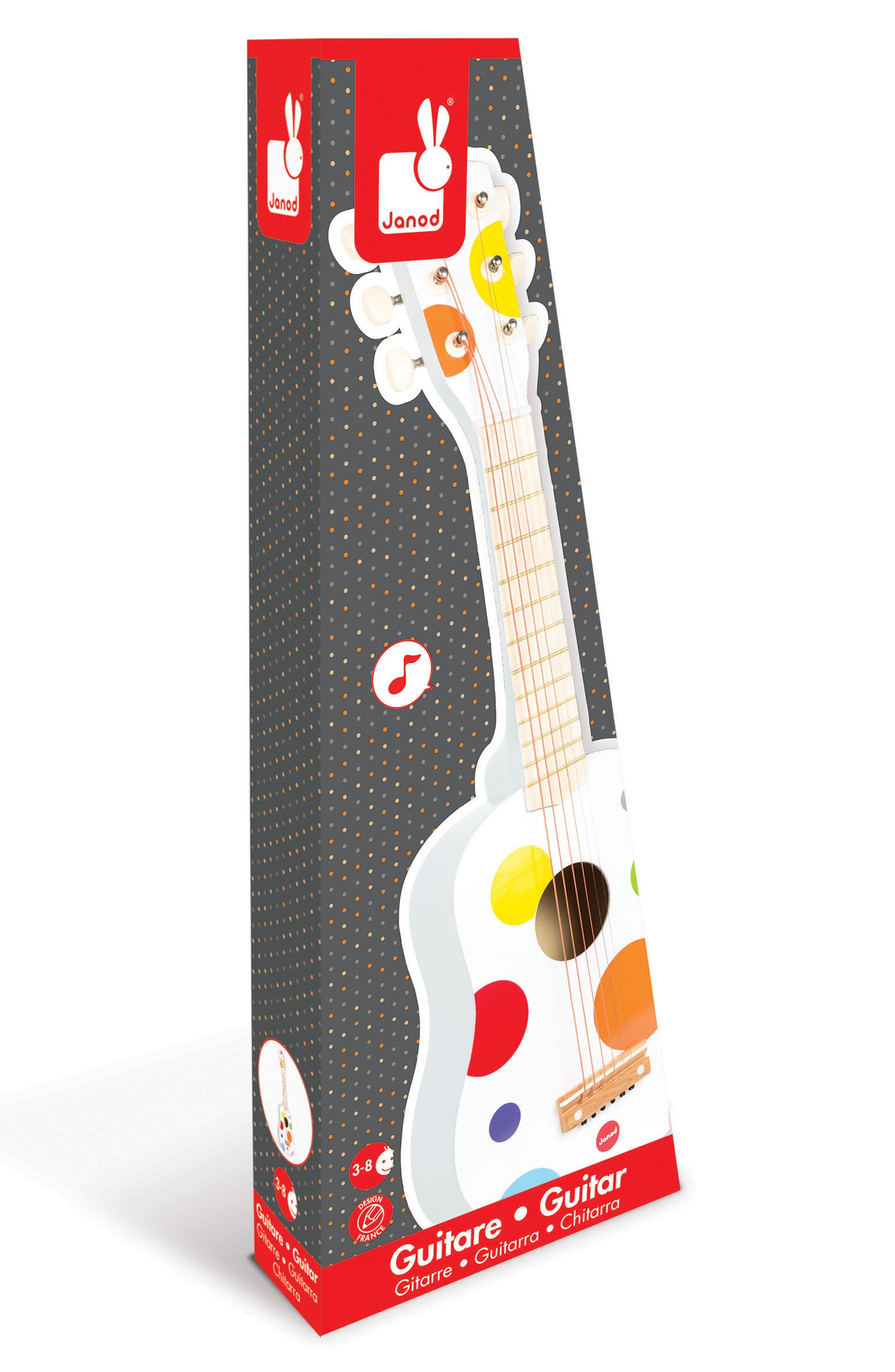 Alternate Image 2  - Janod Polka Dot Wood Guitar