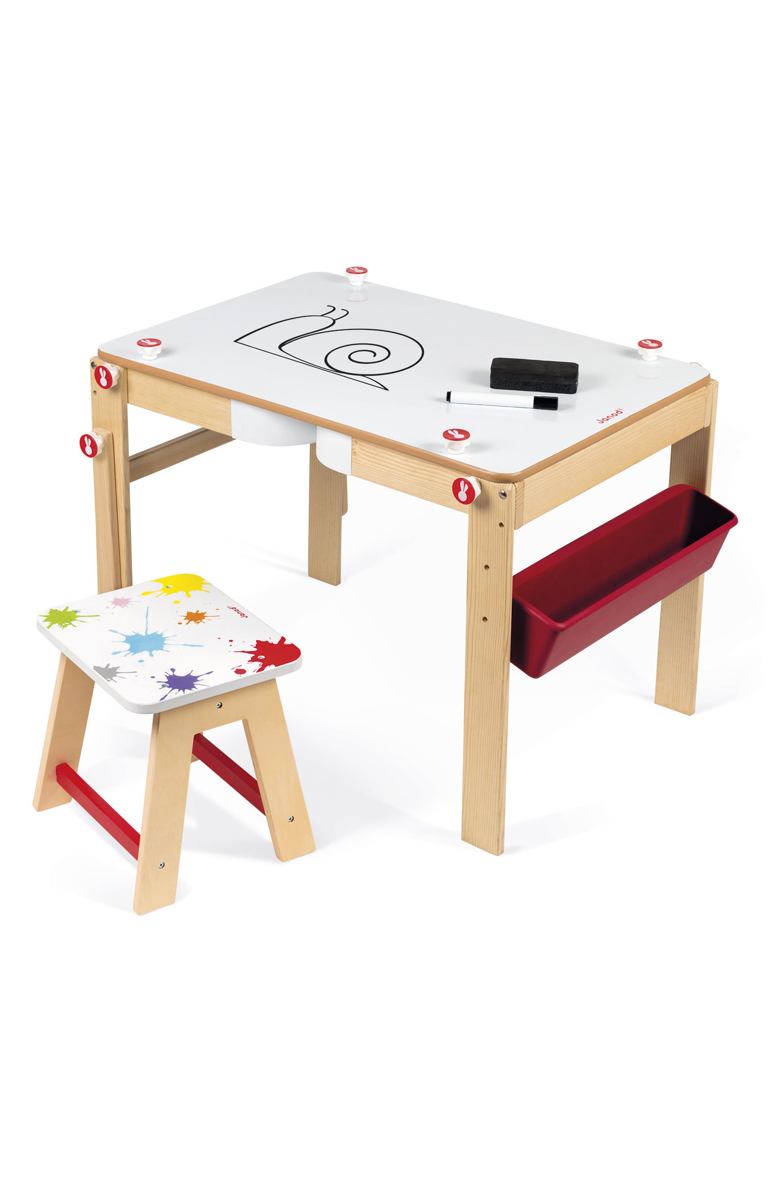 Alternate Image 2  - Janod 2-in-1 Art Desk & Easel