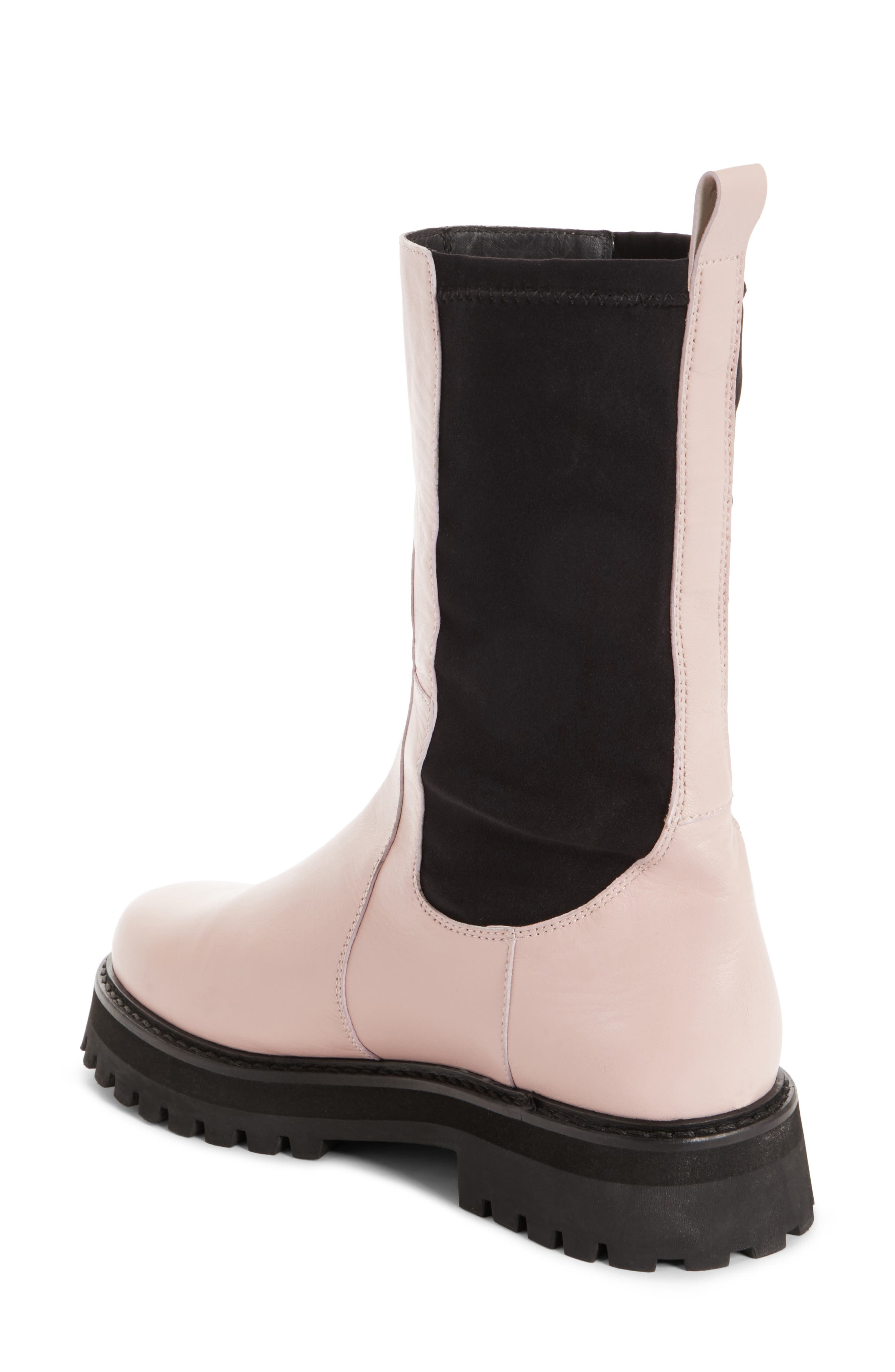 Marques'Almeida Army Boot,                             Alternate thumbnail 2, color,                             Pale Pink
