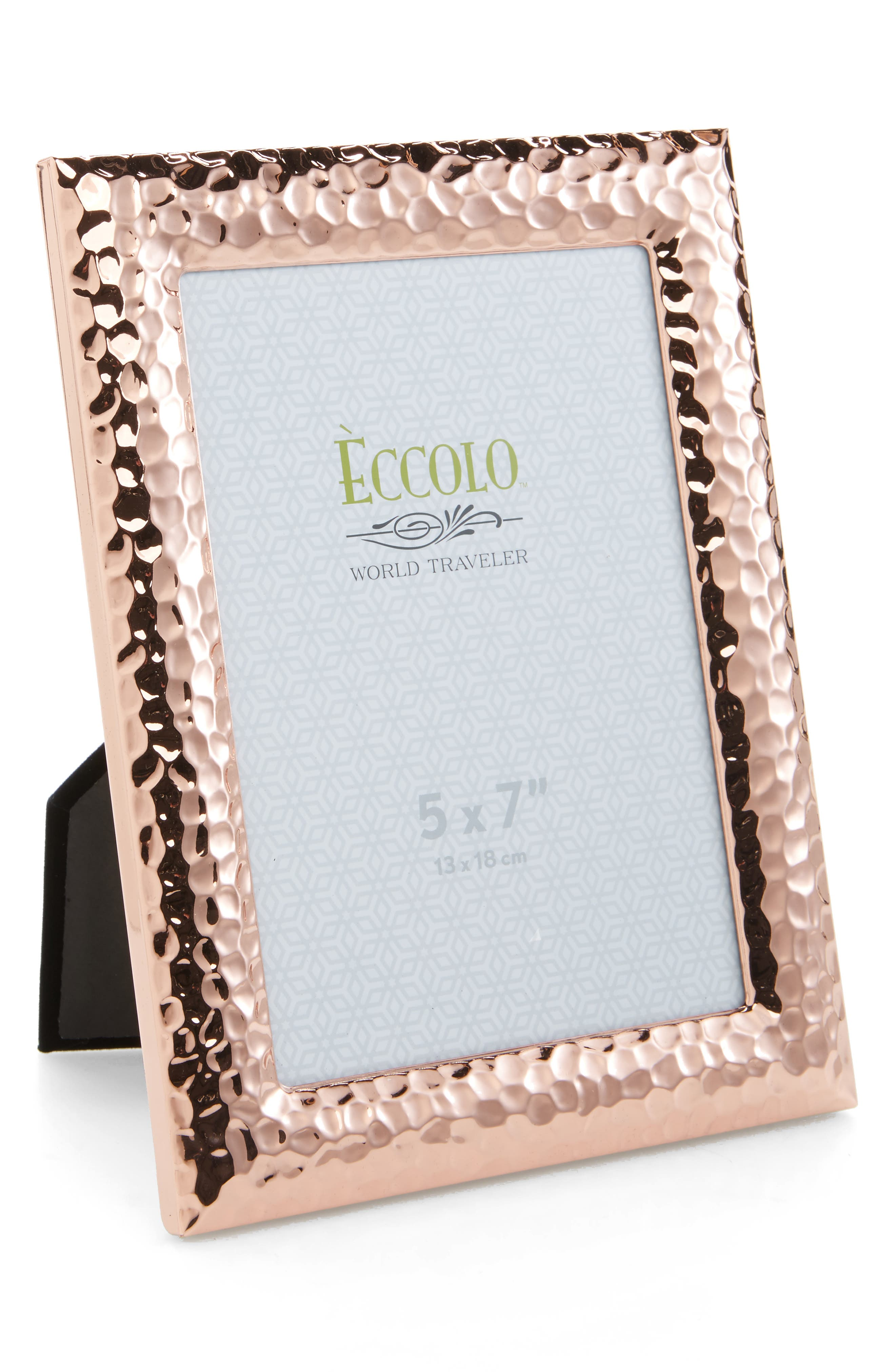 Main Image - Eccolo Hammered Copper Picture Frame