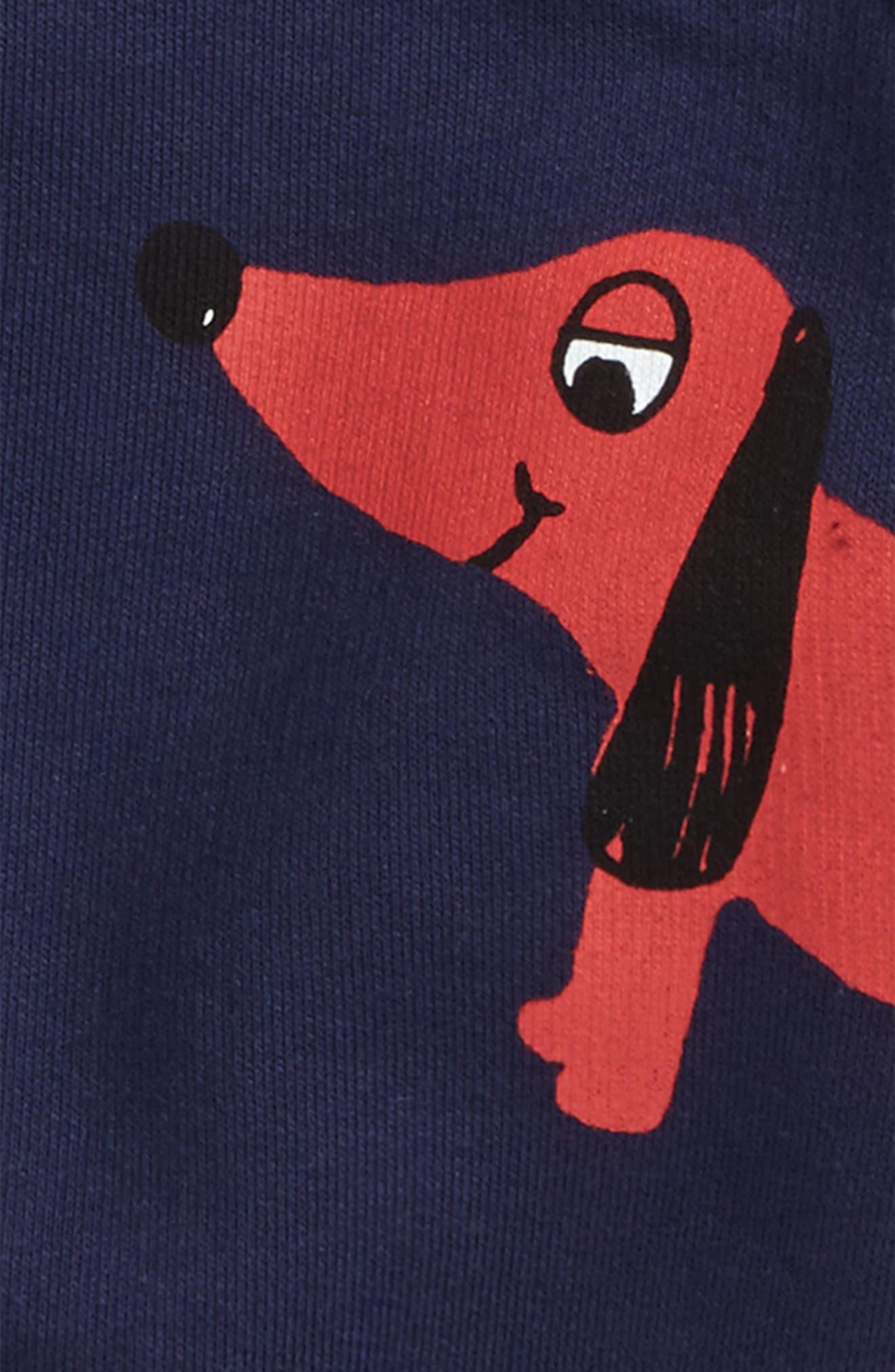 Alternate Image 3  - Mini Rodini Dog Sweatshirt (Baby Boys)