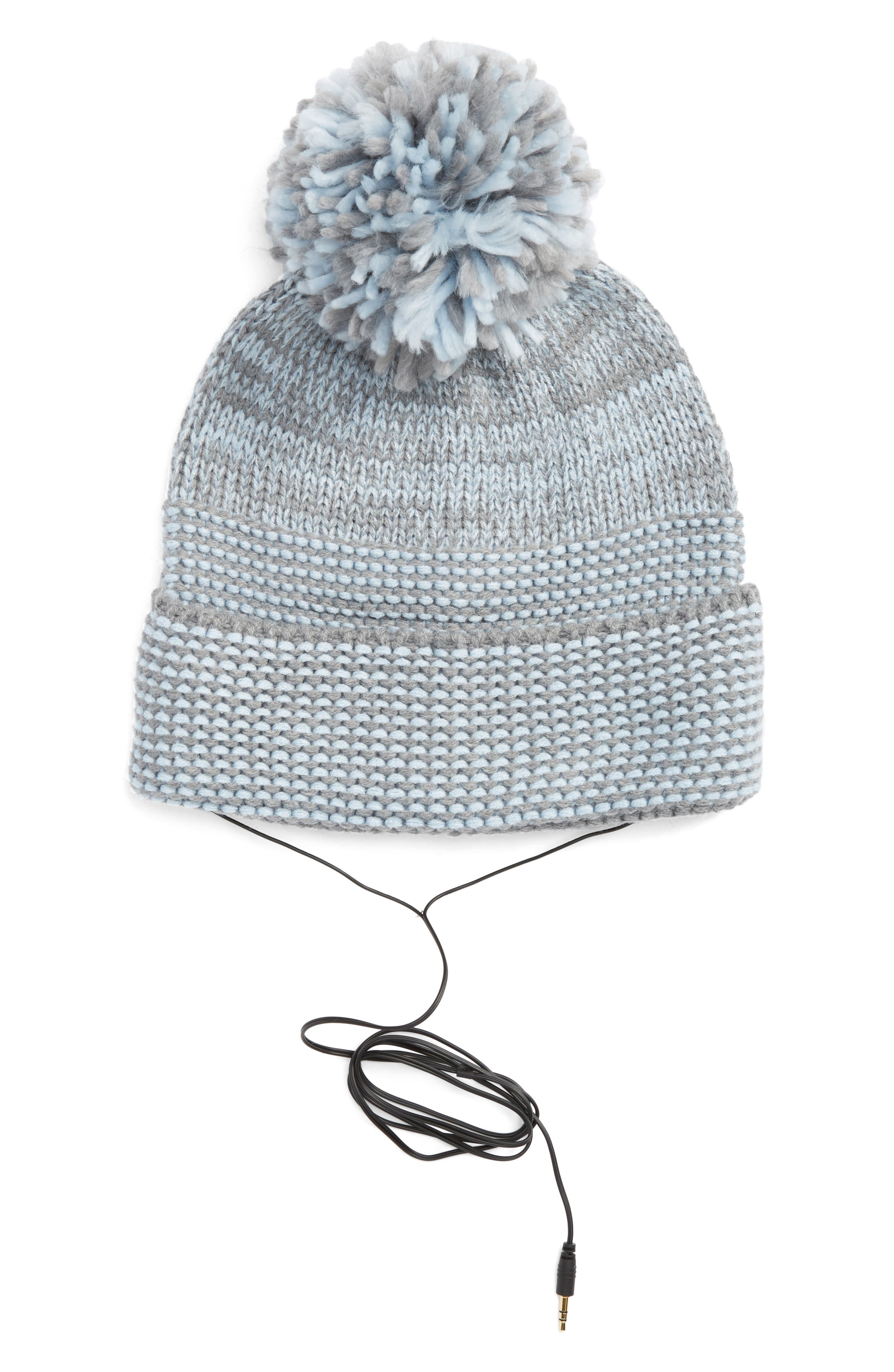 Rebecca Minkoff Mouline Pom Beanie with Headphones
