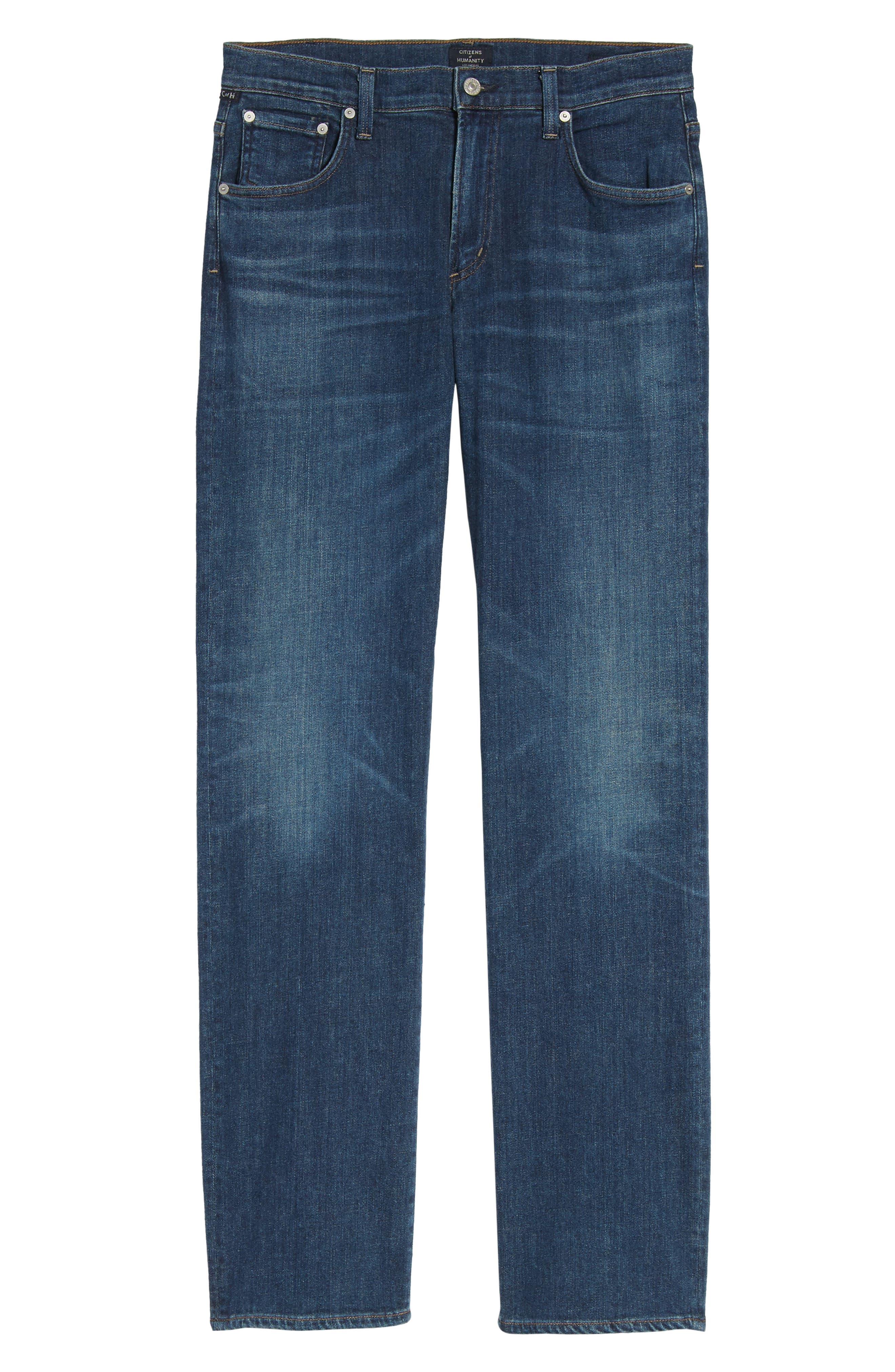 Sid Straight Leg Jeans,                             Alternate thumbnail 6, color,                             Eastgate