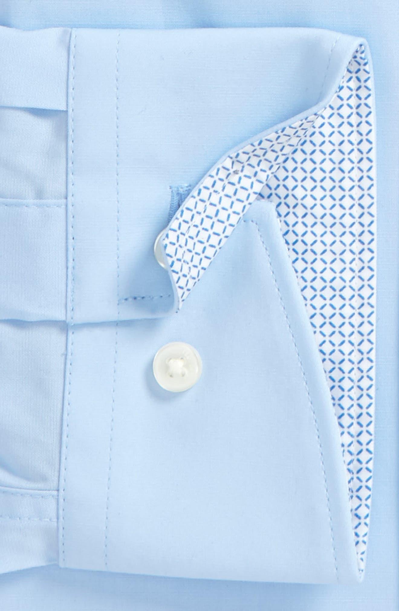 Alternate Image 2  - Ted Baker London Endurance Bookers Slim Fit Solid Dress Shirt