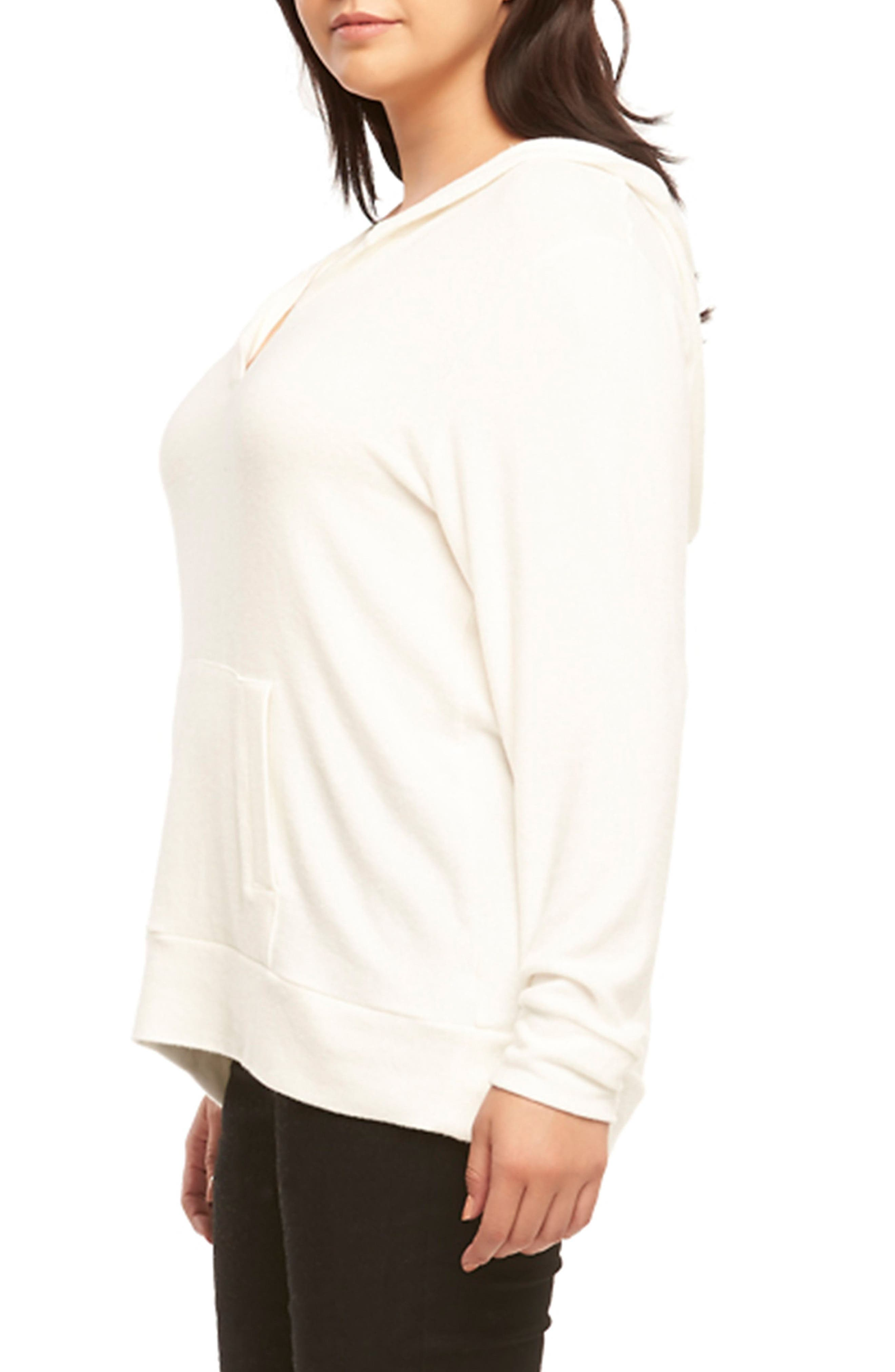Conor Hoodie,                             Alternate thumbnail 3, color,                             White