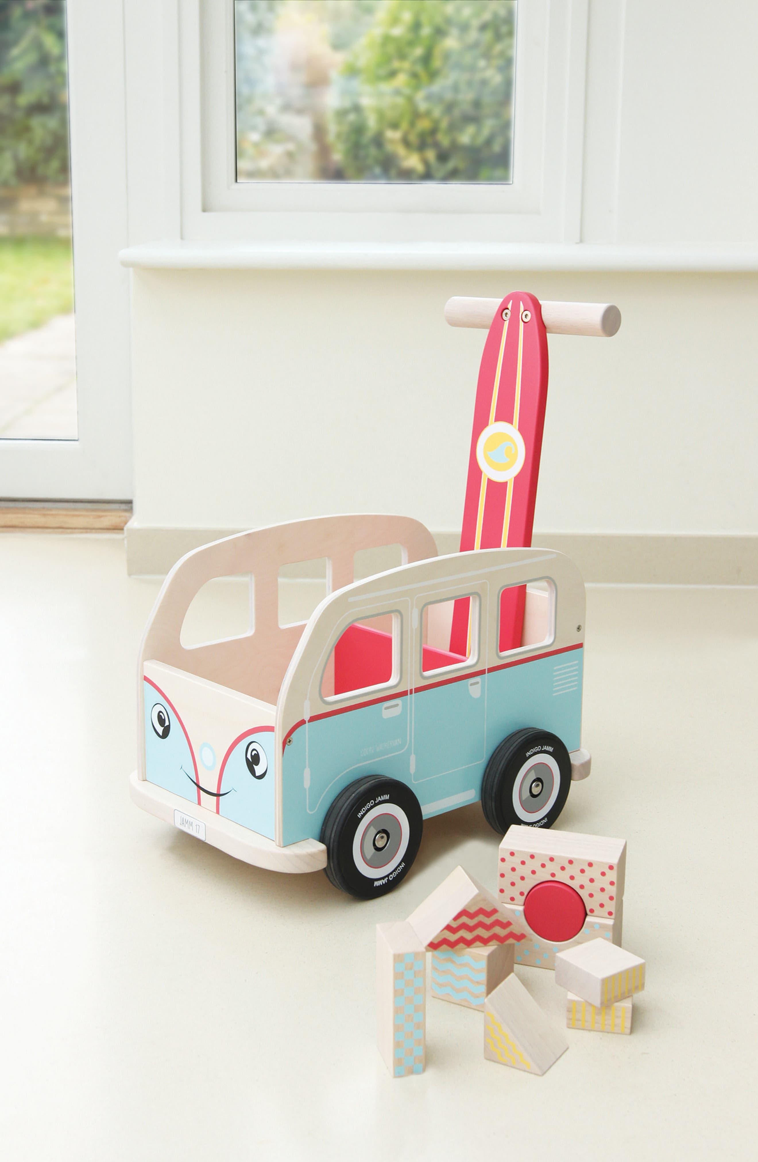 Alternate Image 2  - Indigo Jamm Van Push Toy