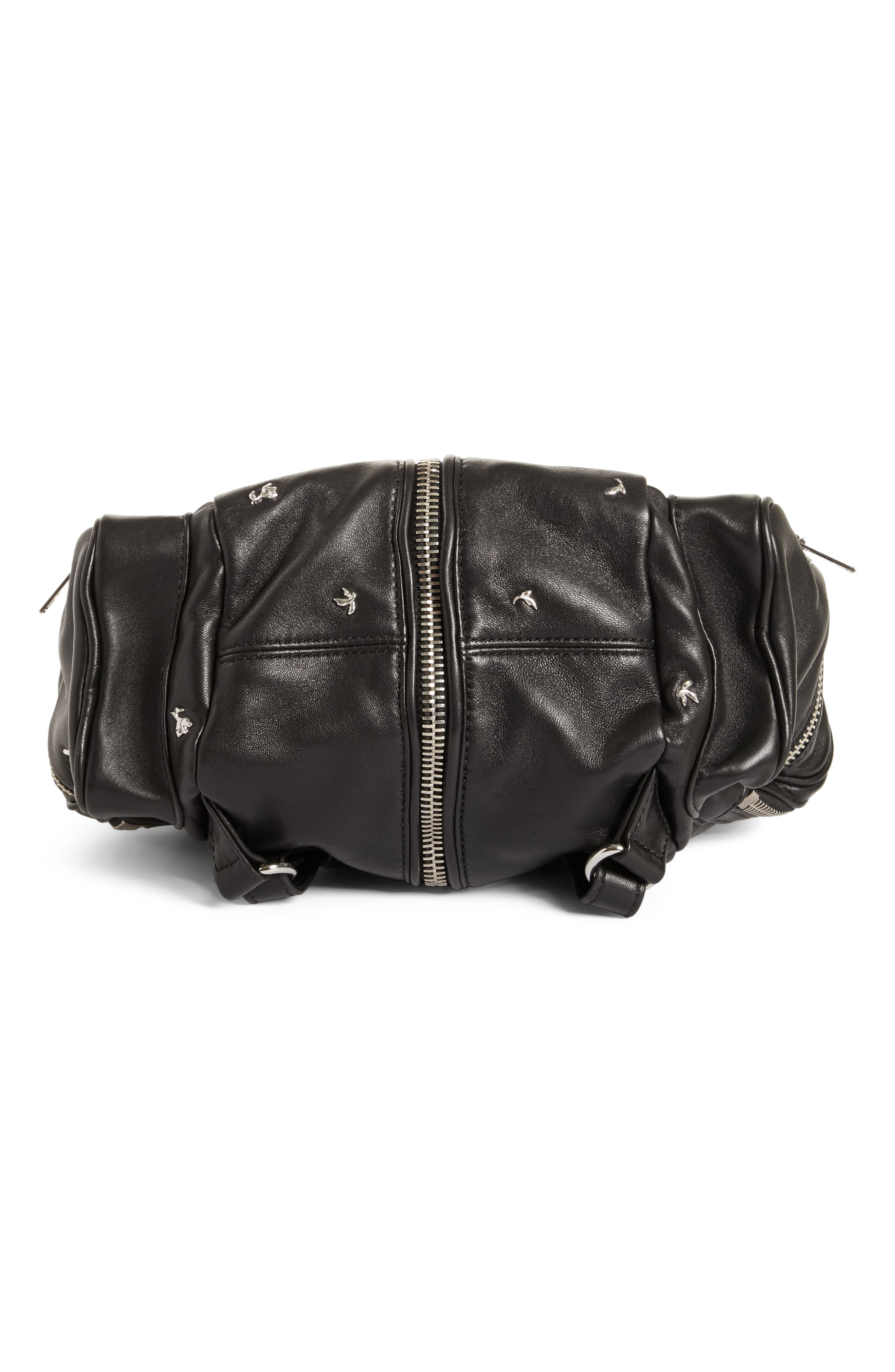Alternate Image 6  - Alexander Wang Mini Marti Rose Studded Convertible Leather Backpack