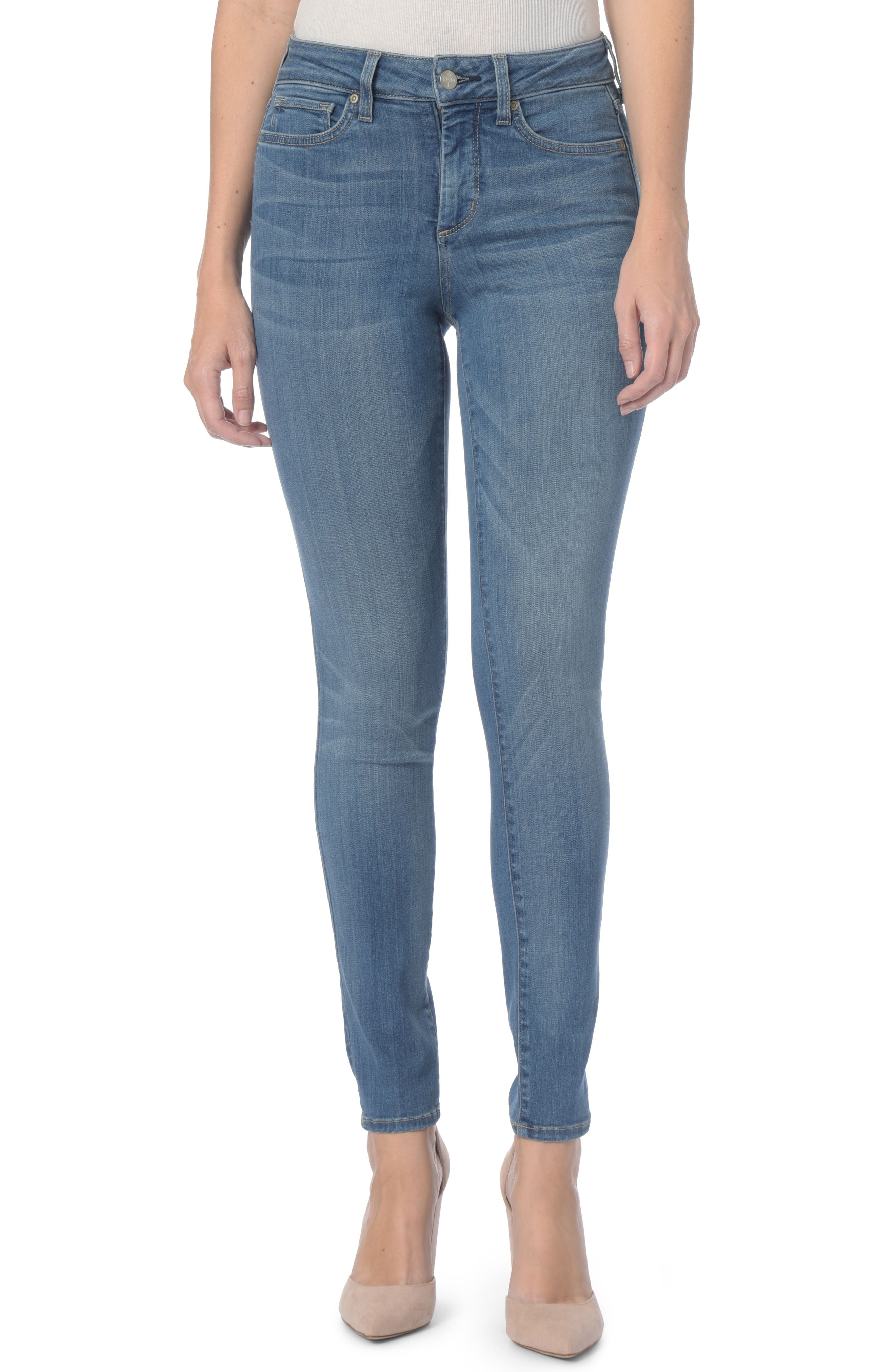 Ami Stretch Super Skinny Jeans,                             Main thumbnail 1, color,                             Colmar