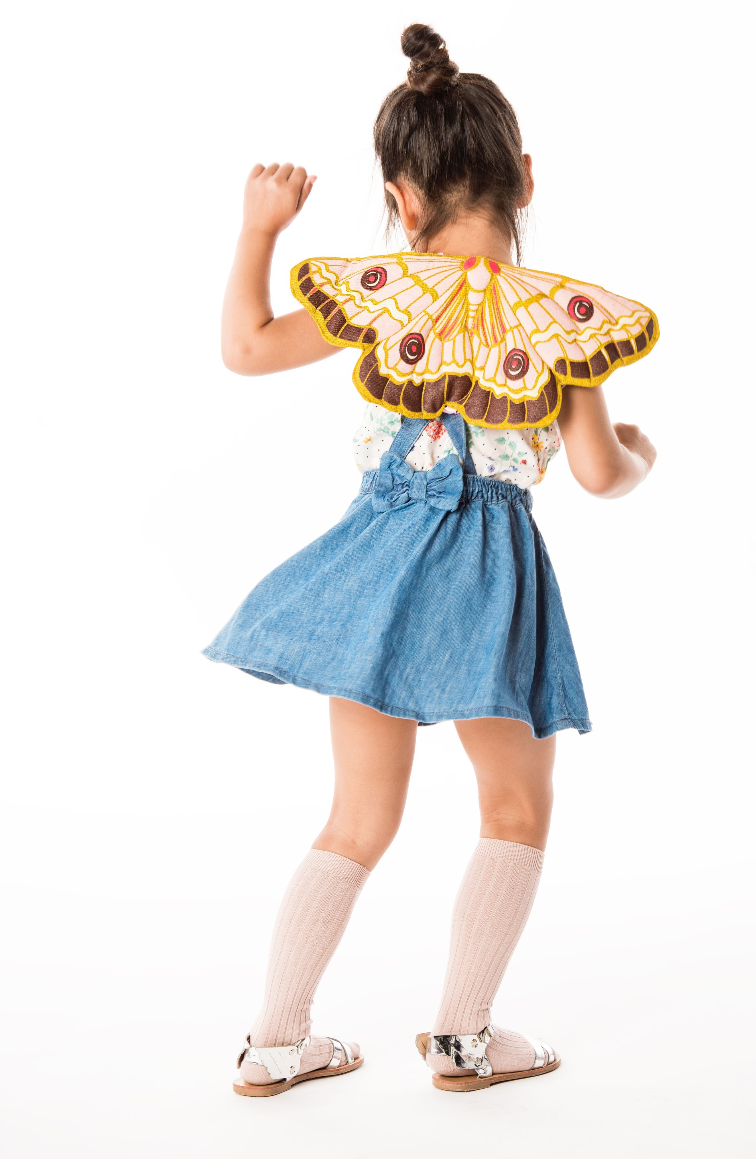 Alternate Image 2  - Lovelane Quilted Butterfly Wings (Baby & Toddler)
