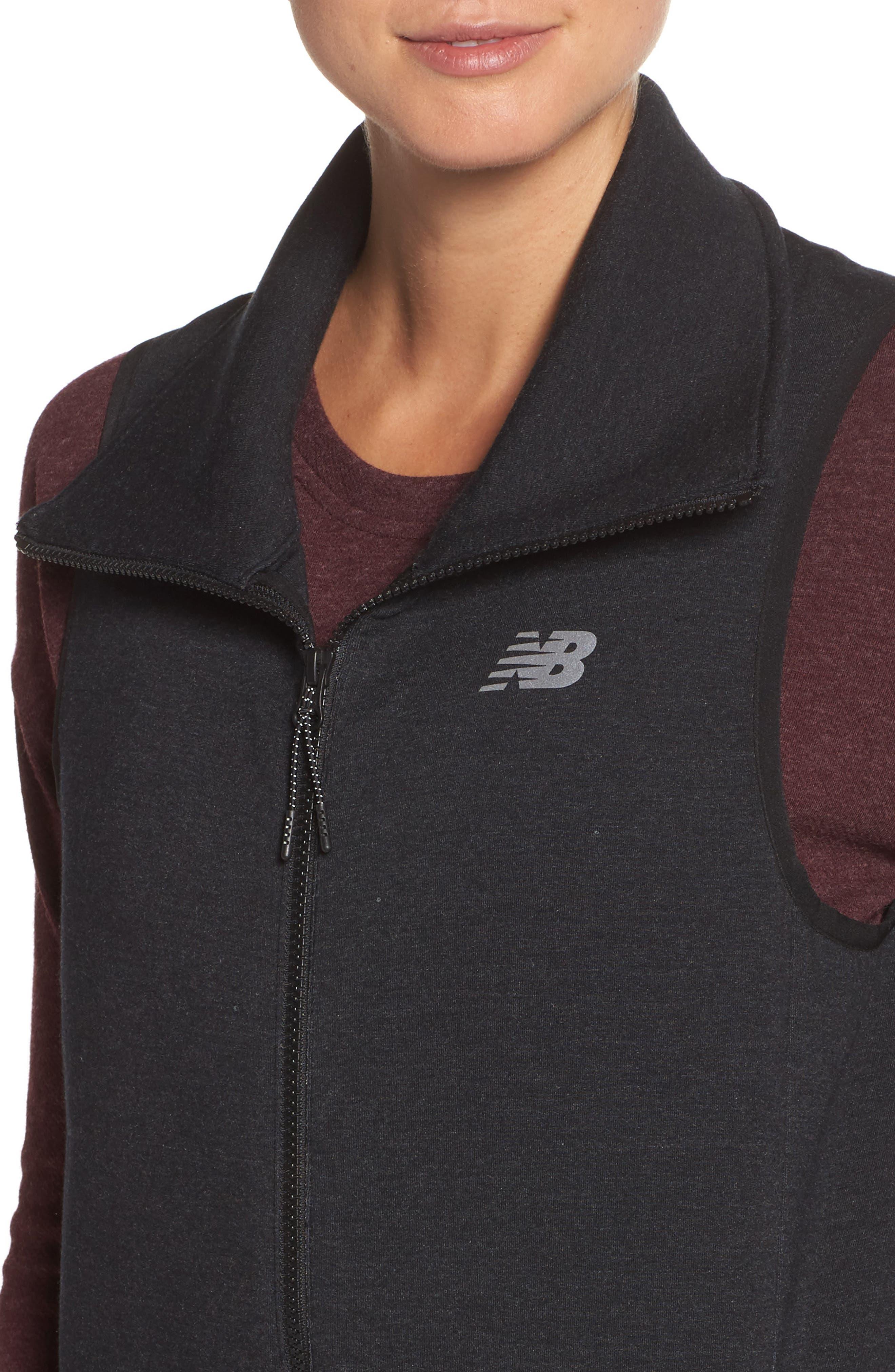 24/7 Luxe Vest,                             Alternate thumbnail 4, color,                             Bk