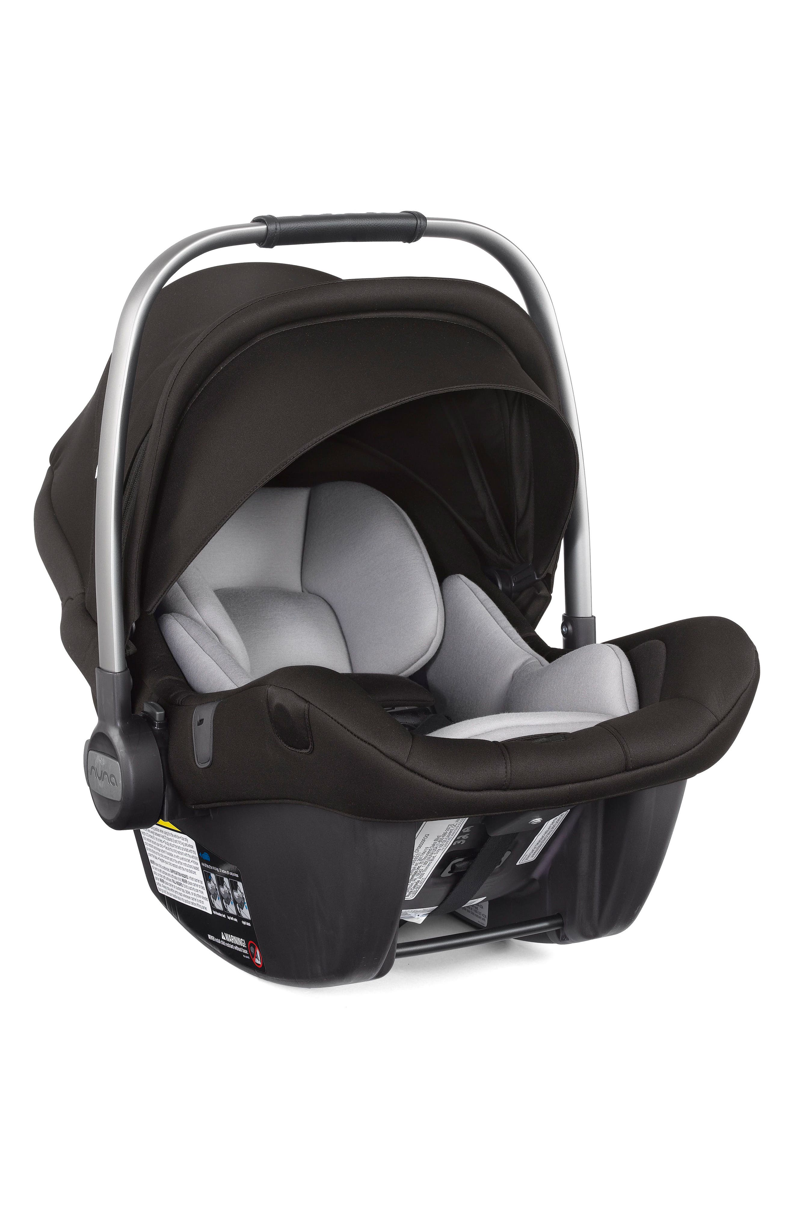 2017 PIPA<sup>™</sup> Lite LX Infant Car Seat & Base,                             Alternate thumbnail 8, color,                             Caviar