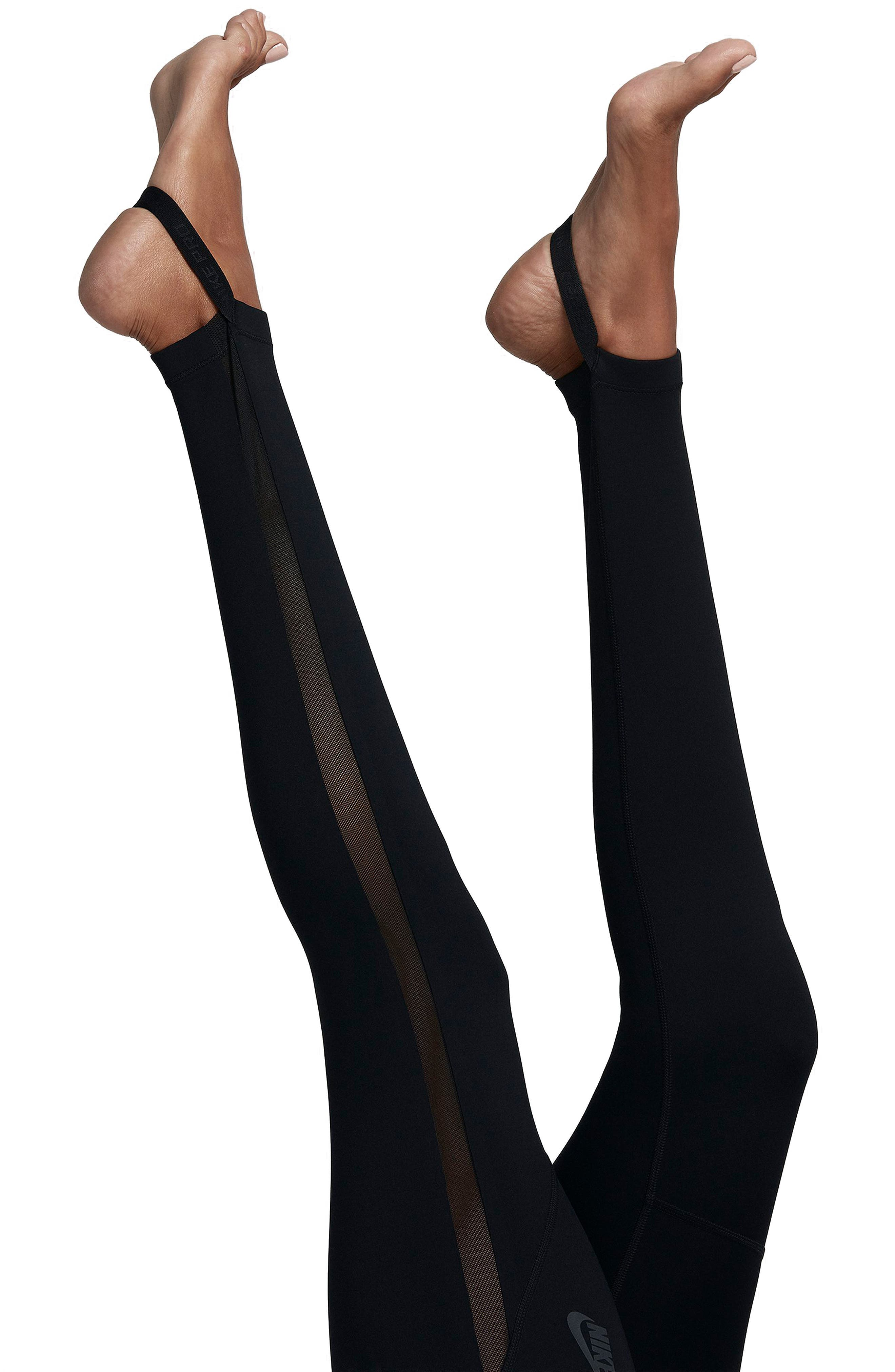 NikeLab NK One Tights,                             Alternate thumbnail 4, color,                             Black