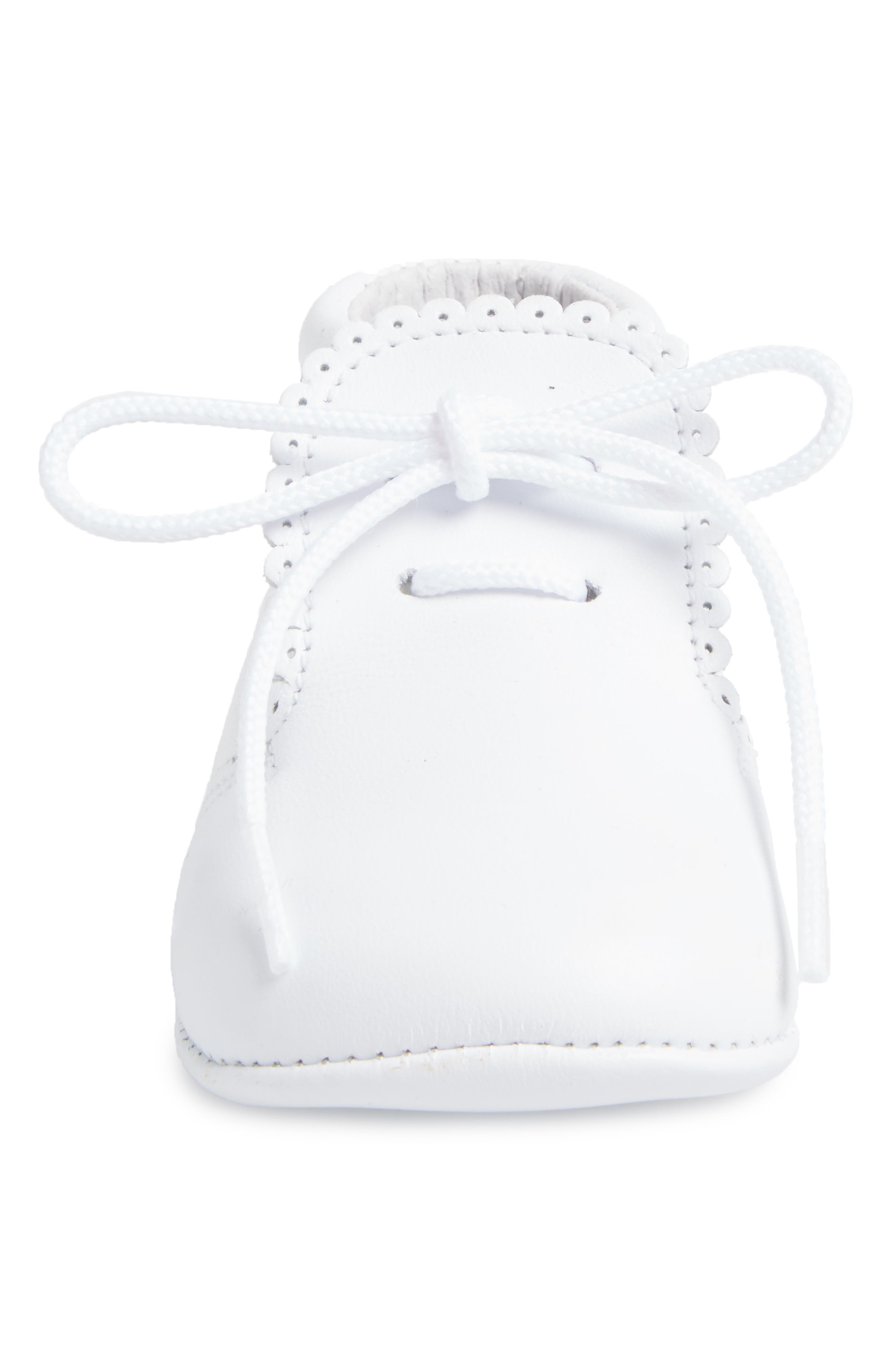 Alternate Image 4  - Carriage Boutique Crib Shoe (Baby)