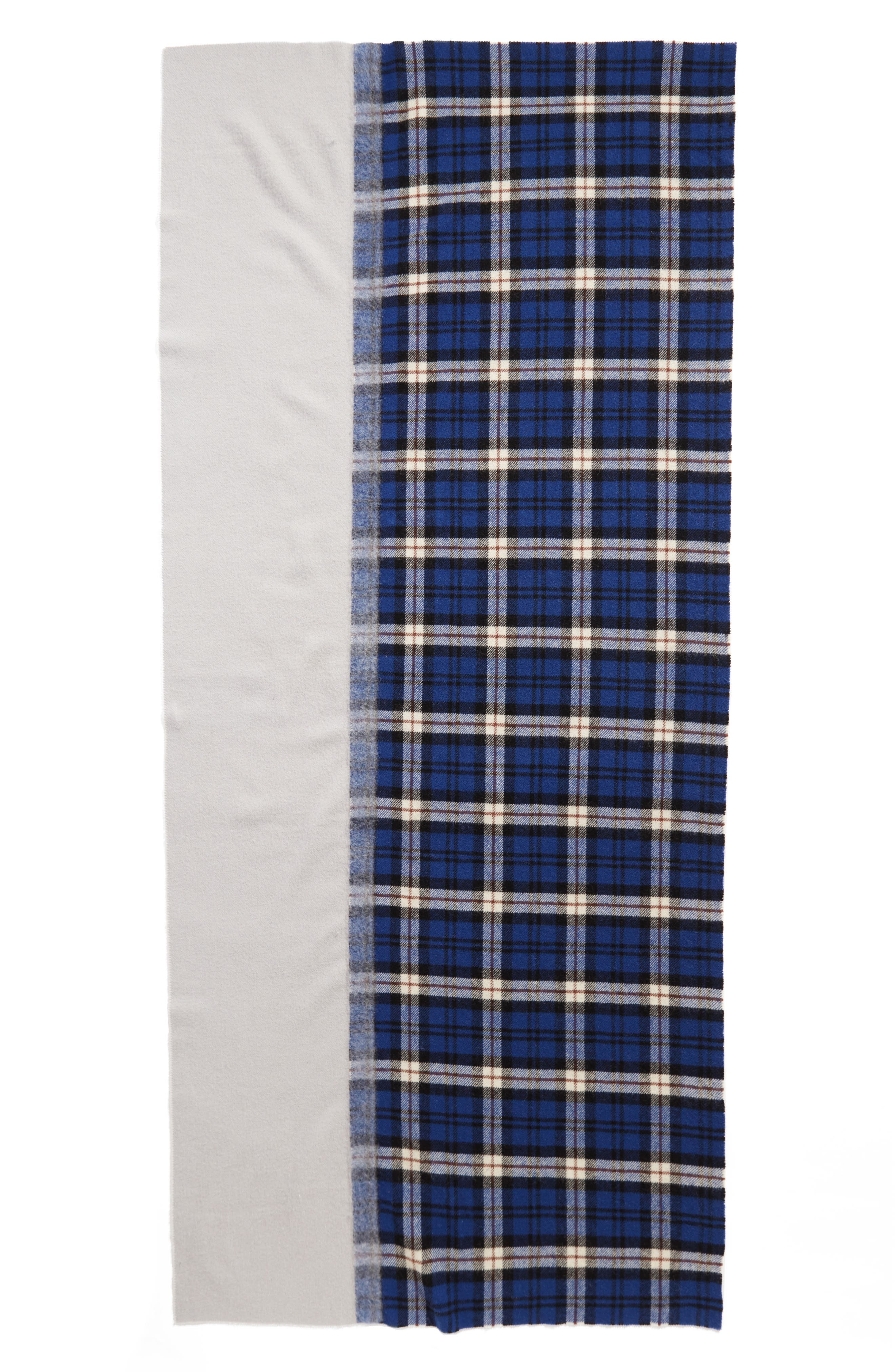 Alternate Image 2  - Standard Form Traditional Wool & Cashmere Scarf