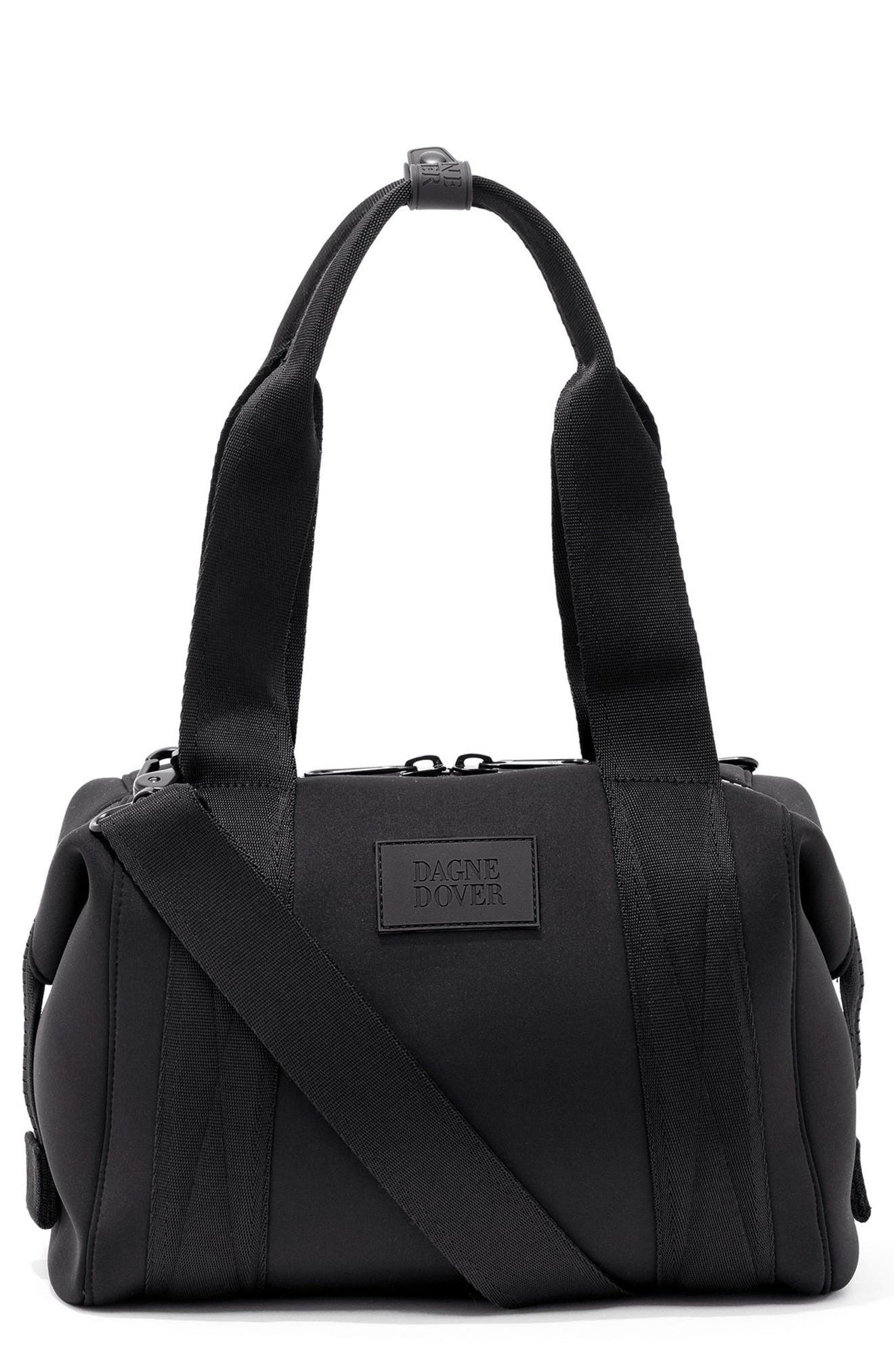 365 Small Landon Carryall Duffel Bag,                         Main,                         color, Onyx