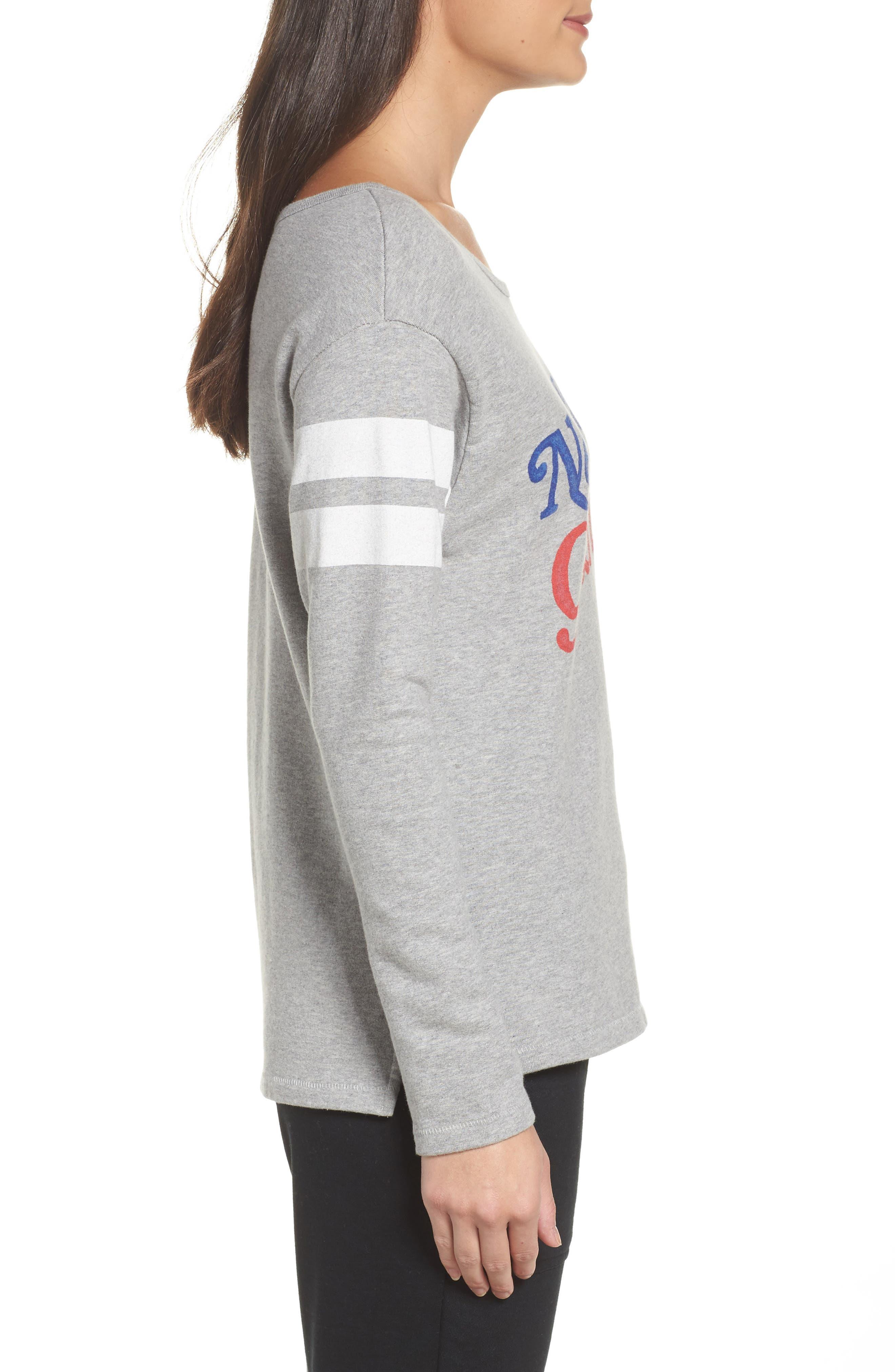 NFL New York Giants Champion Sweatshirt,                             Alternate thumbnail 3, color,                             Grey