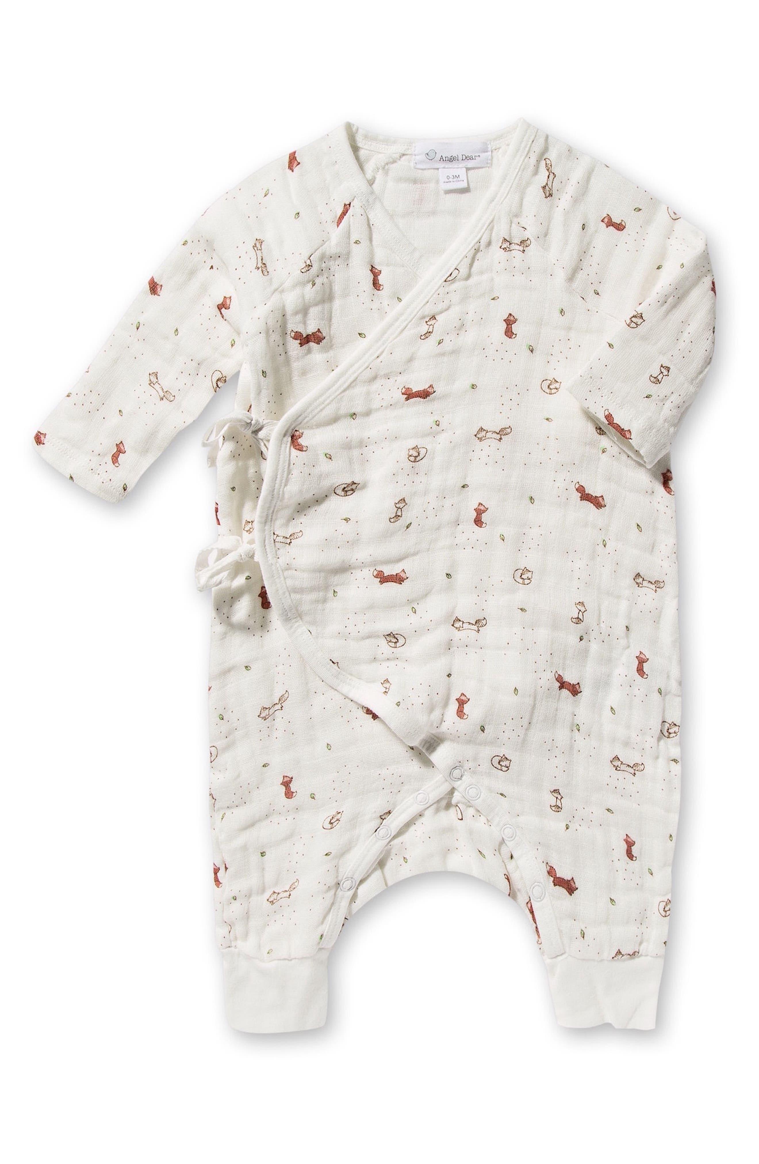 Alternate Image 2  - Angel Dear Romper, Blankie & Blanket Set (Baby)