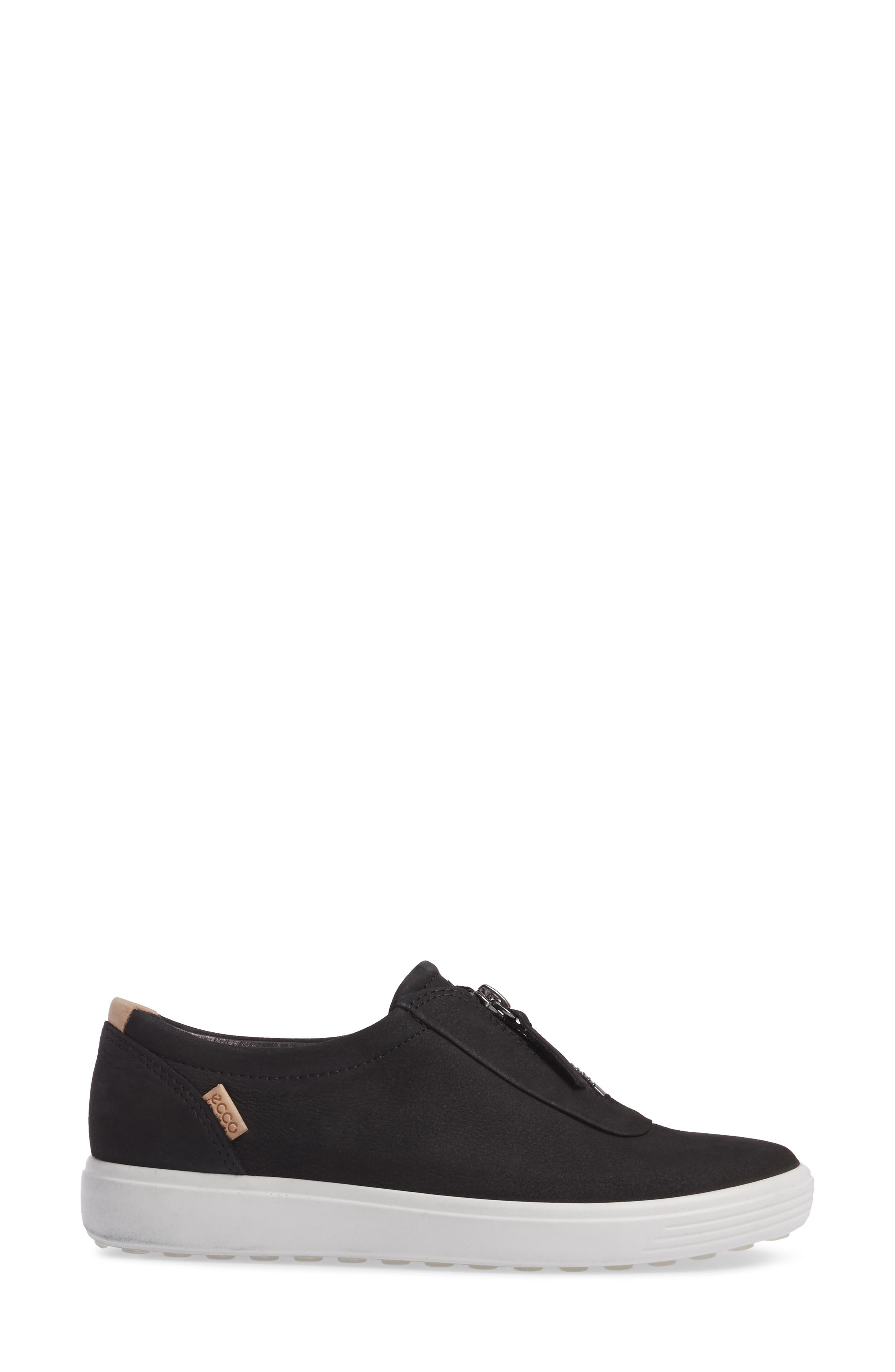 Alternate Image 3  - ECCO Soft 7 Slip-On Sneaker (Women)
