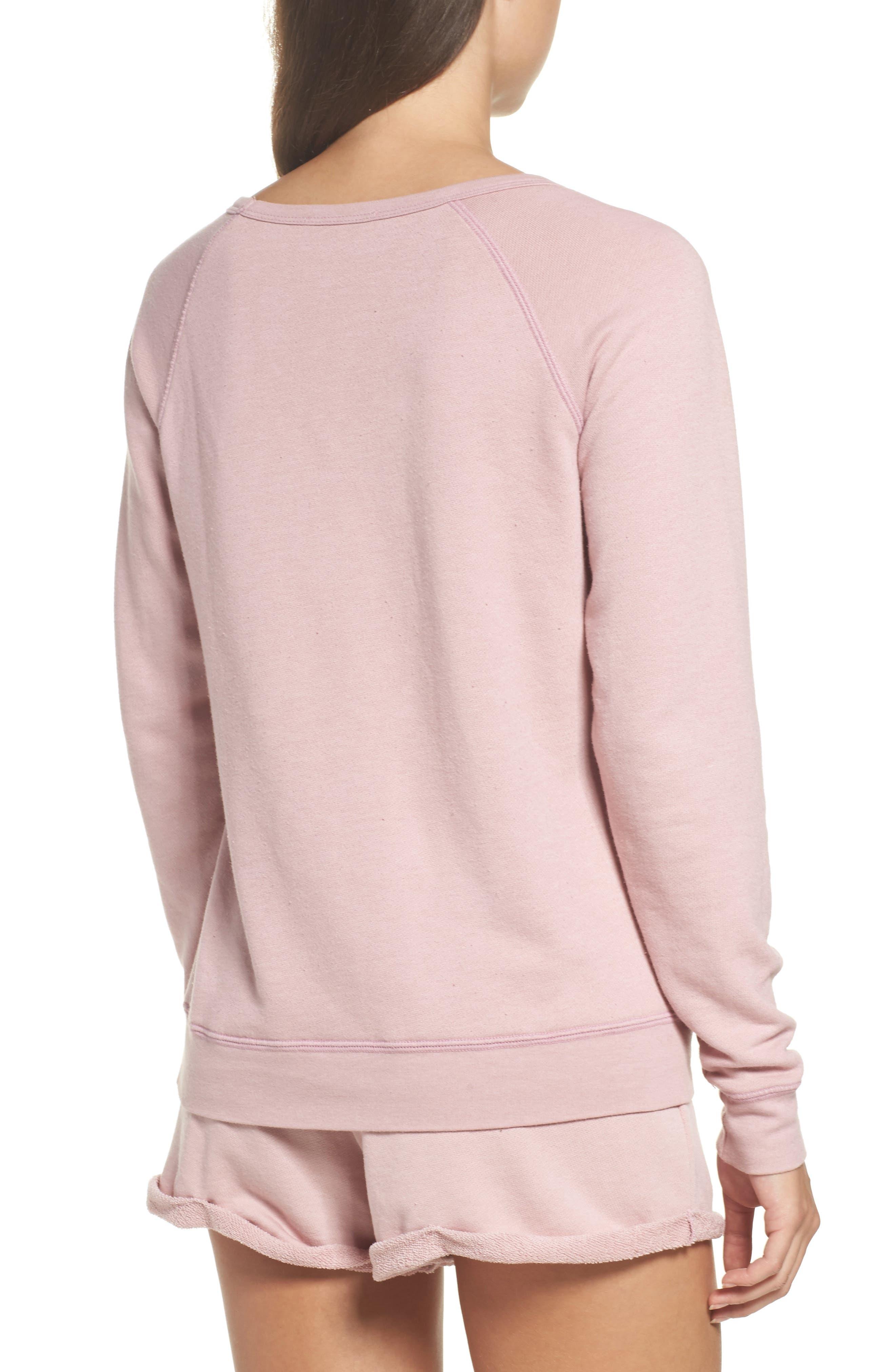 Alternate Image 2  - Junk Food Stay-Cation Sweatshirt