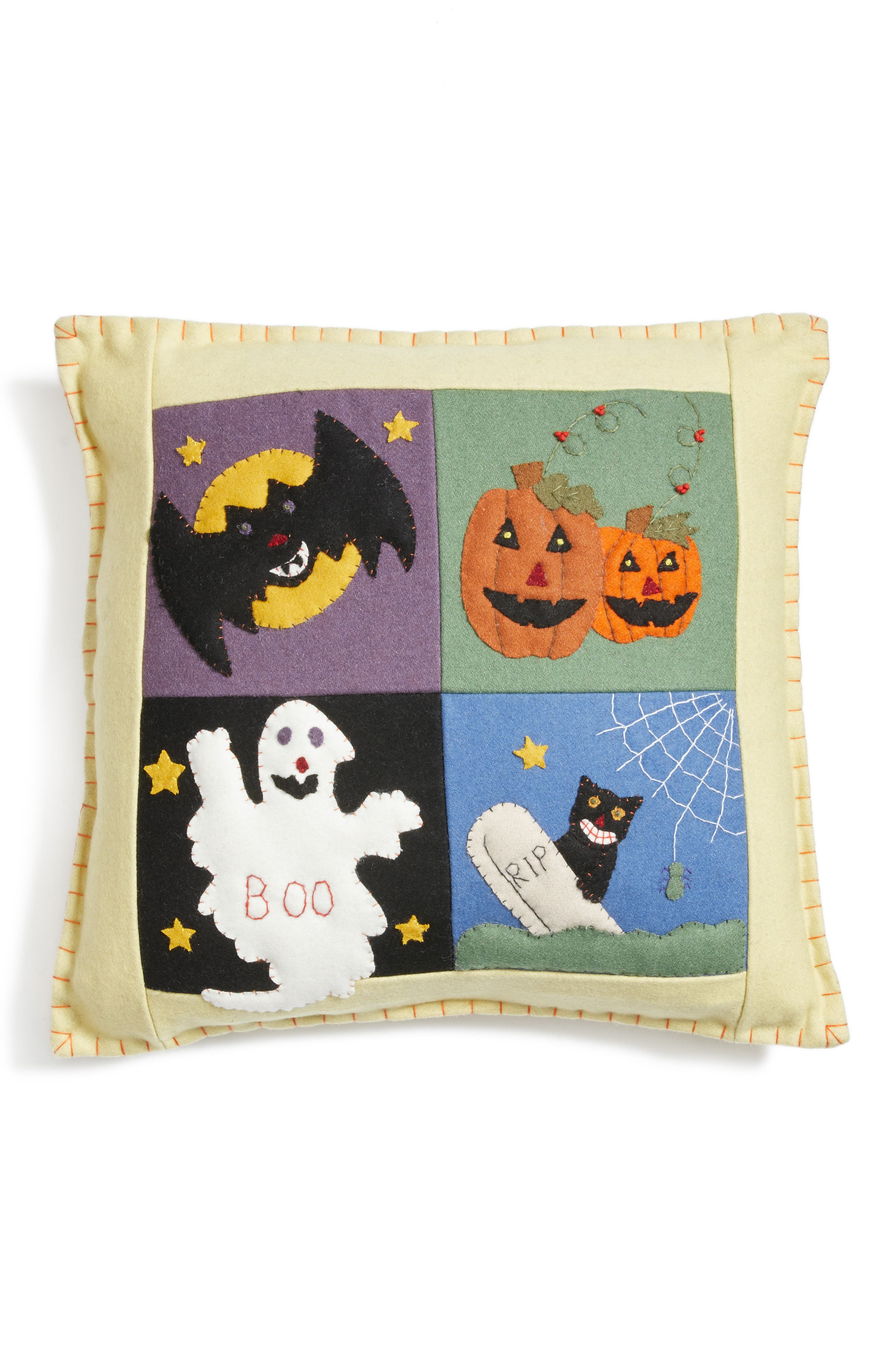 New World Arts Ghost Boo Pillow
