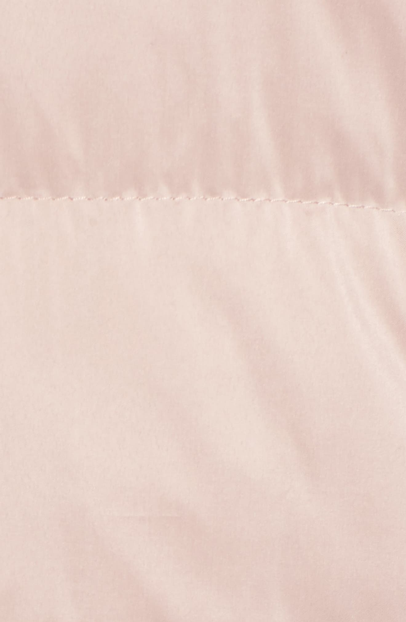 Hooded Puffer Jacket,                             Alternate thumbnail 6, color,                             Petal Pink