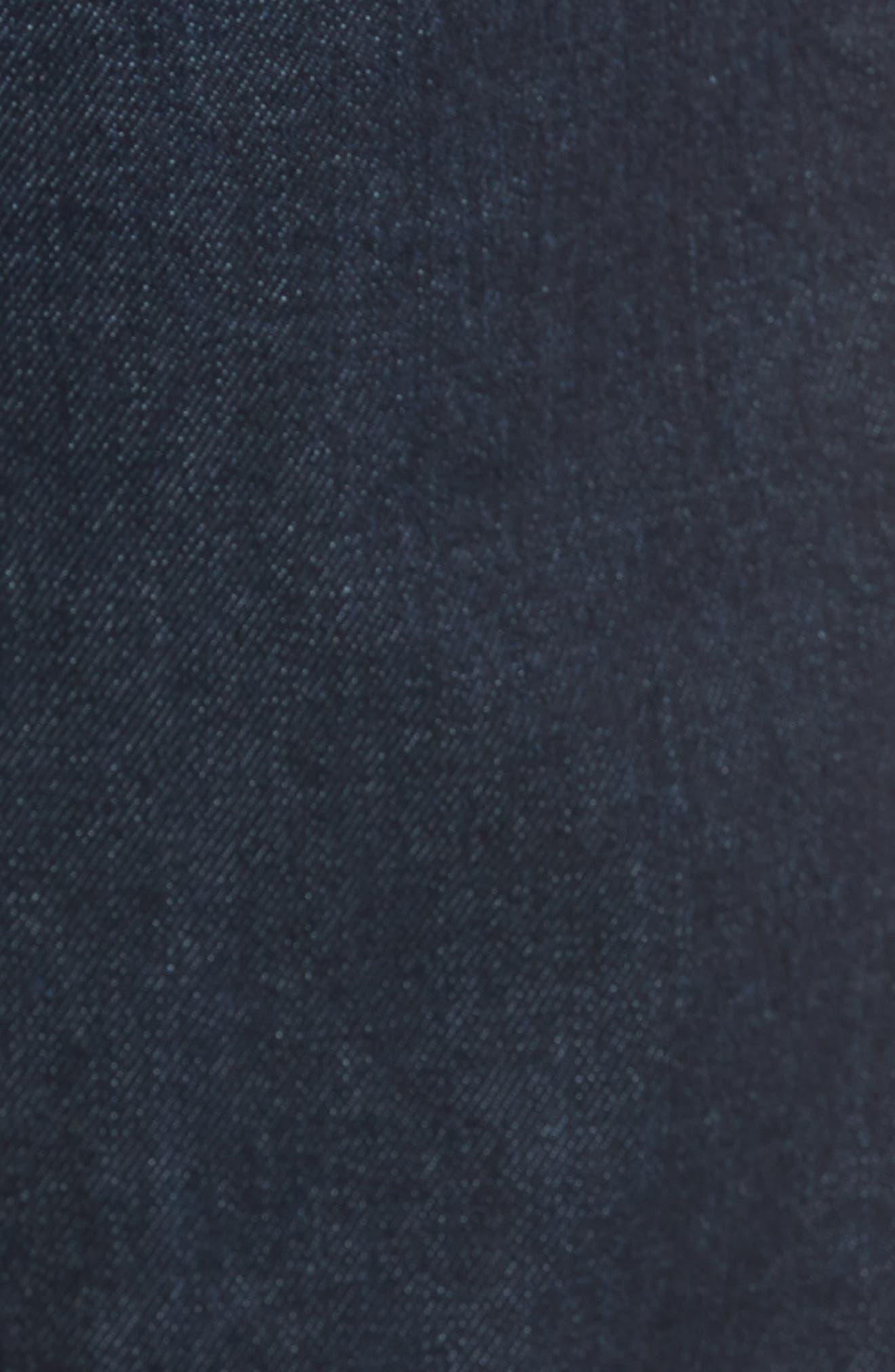 Jim Slim Fit Selvedge Jeans,                             Alternate thumbnail 5, color,                             Stretch Rinse