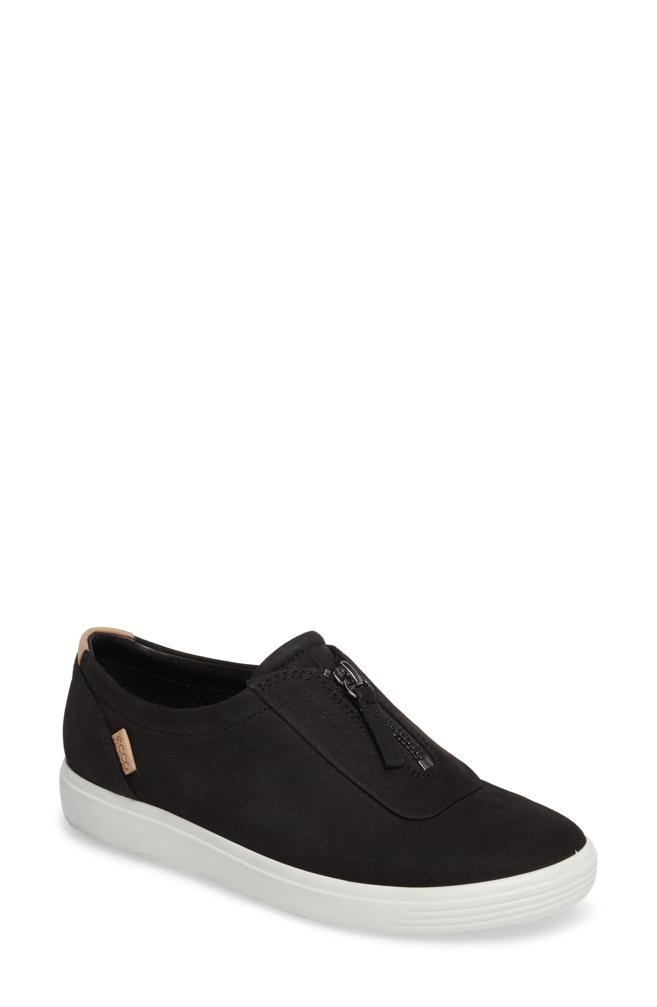 Alternate Image 1 Selected - ECCO Soft 7 Slip-On Sneaker (Women)