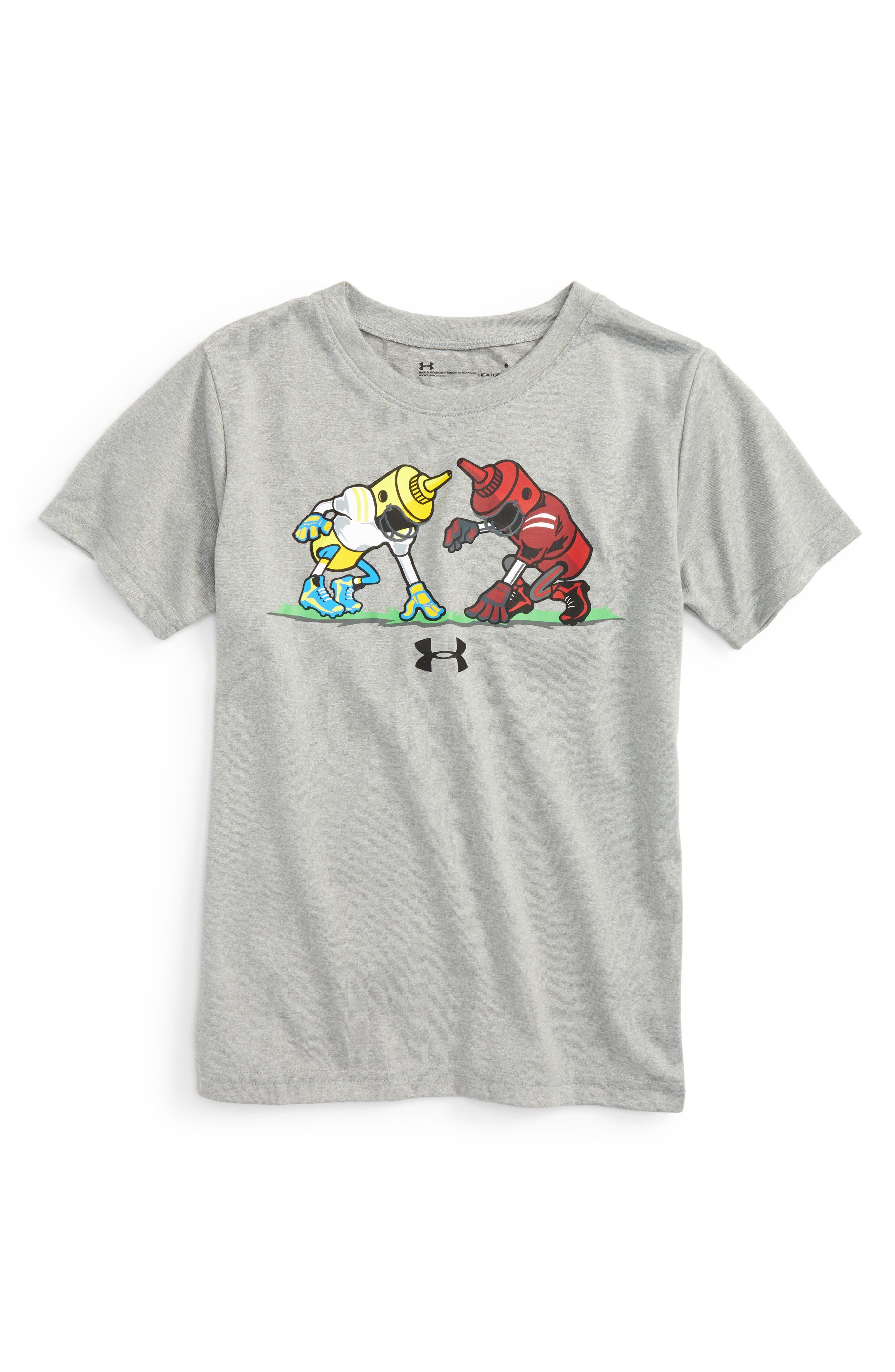 Under Armour Mustard vs Ketchup HeatGear® T-Shirt (Toddler Boys & Little Boys)