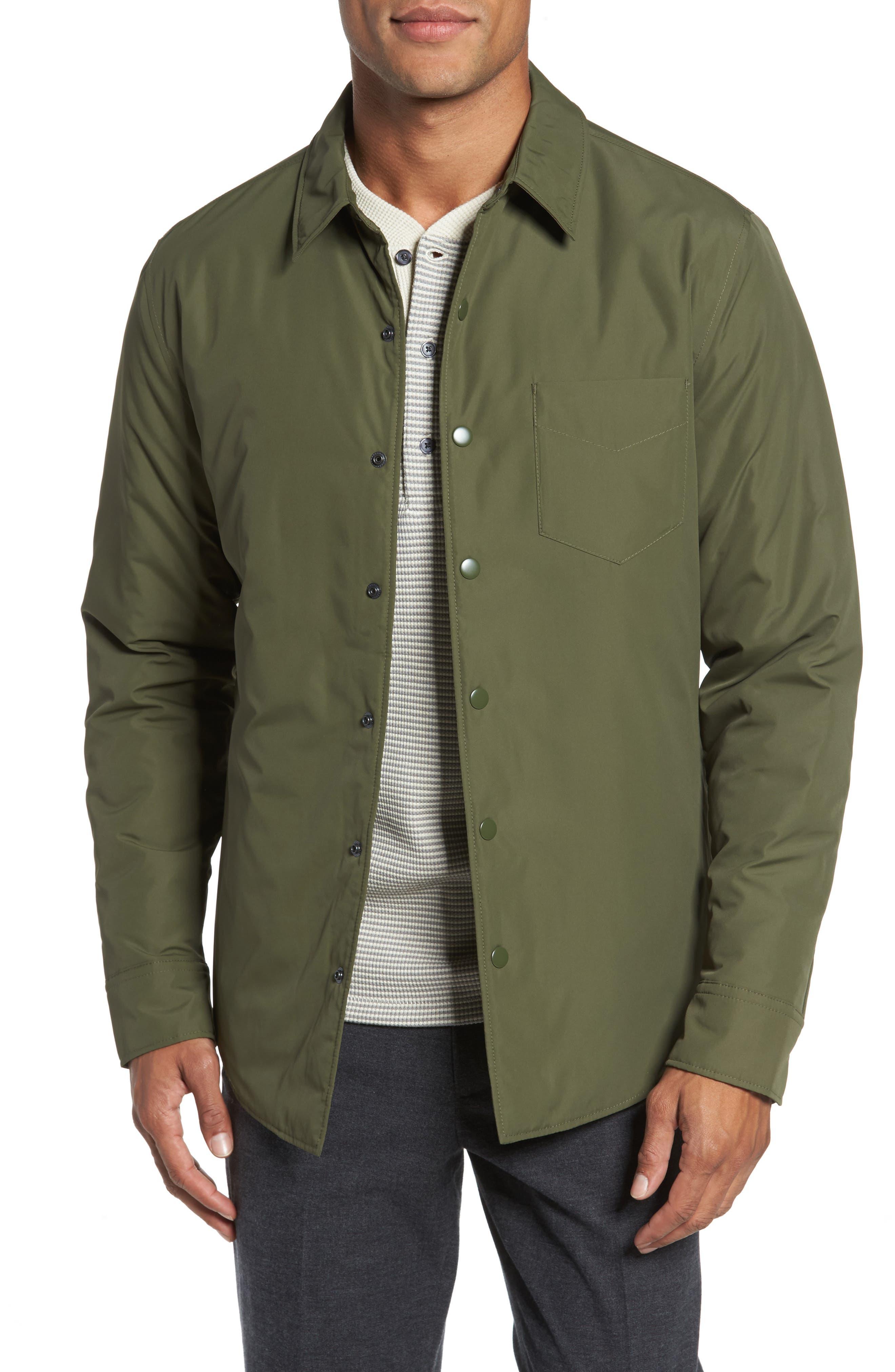 Bonobos Snap Front Shirt Jacket