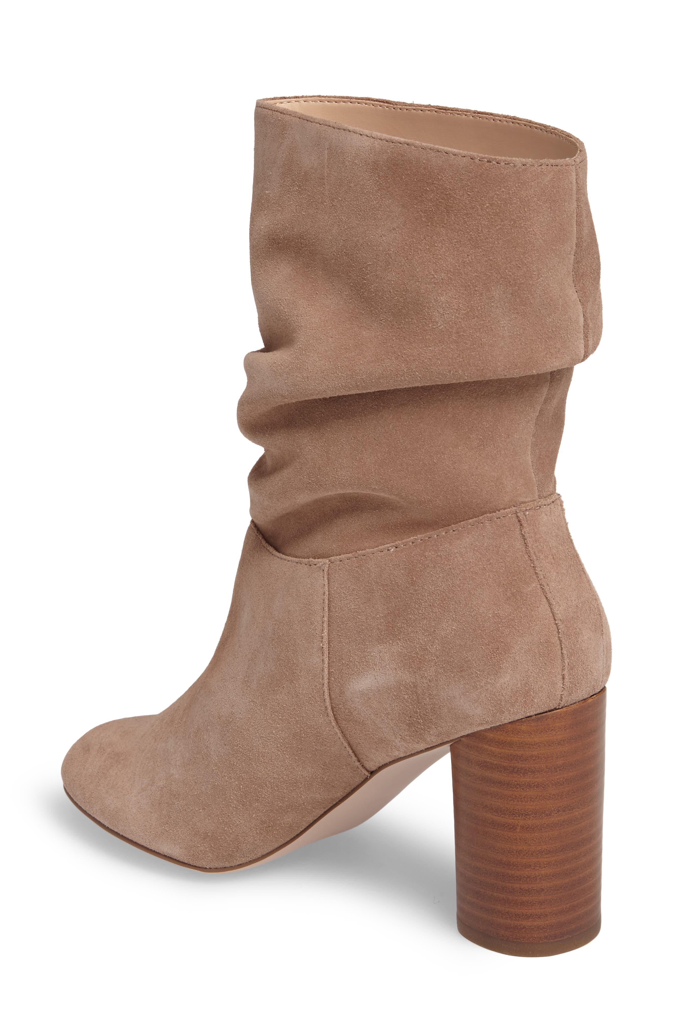 Belen Slouchy Bootie,                             Alternate thumbnail 2, color,                             Night Taupe