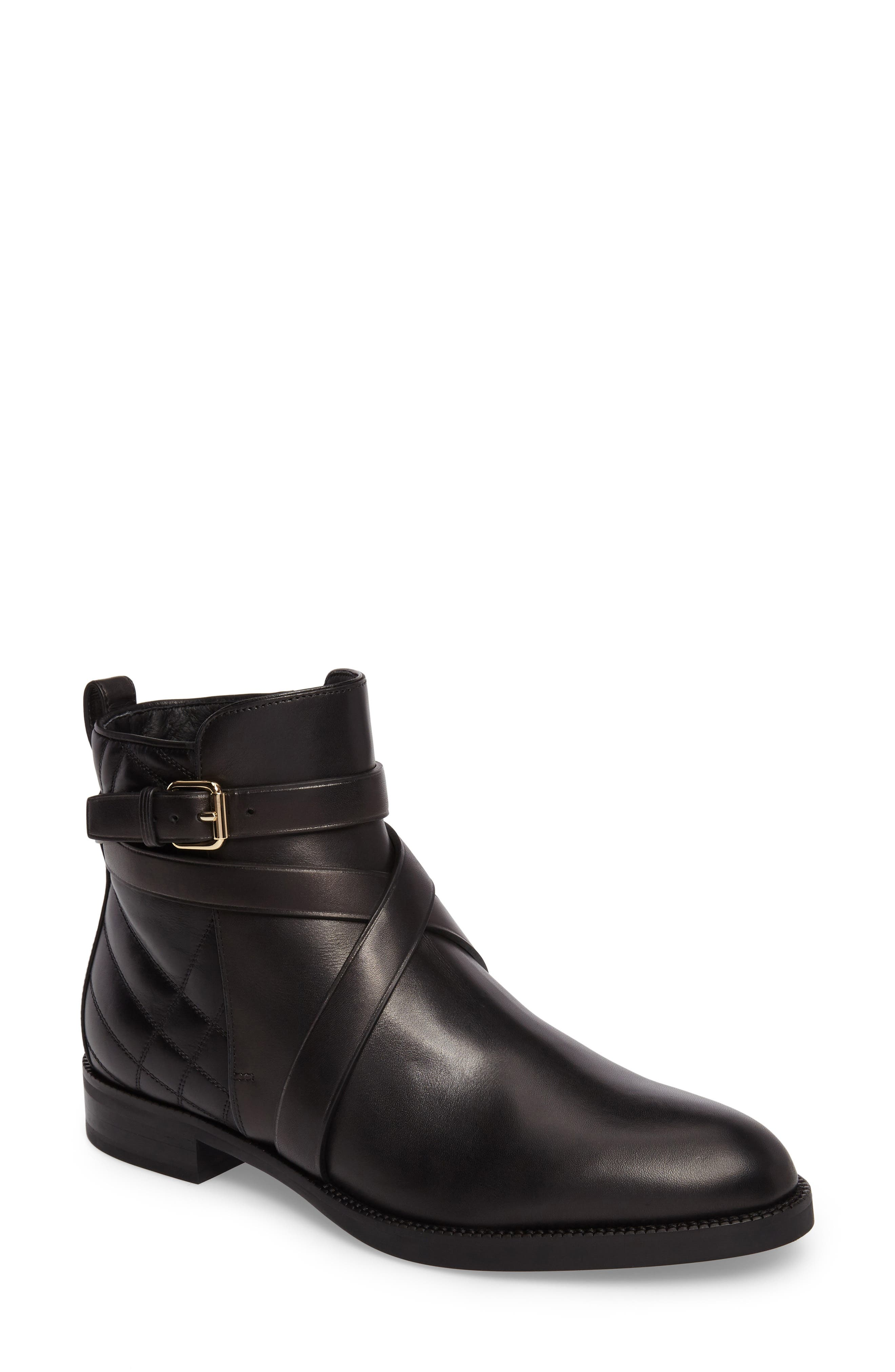 Ankle Boot,                             Main thumbnail 1, color,                             Black