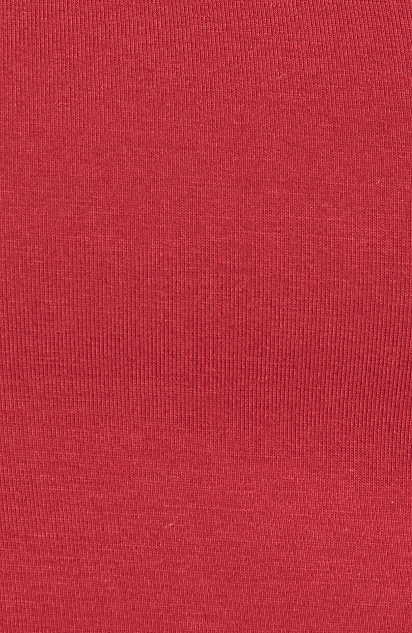 Hills Crop Top,                             Alternate thumbnail 5, color,                             Red