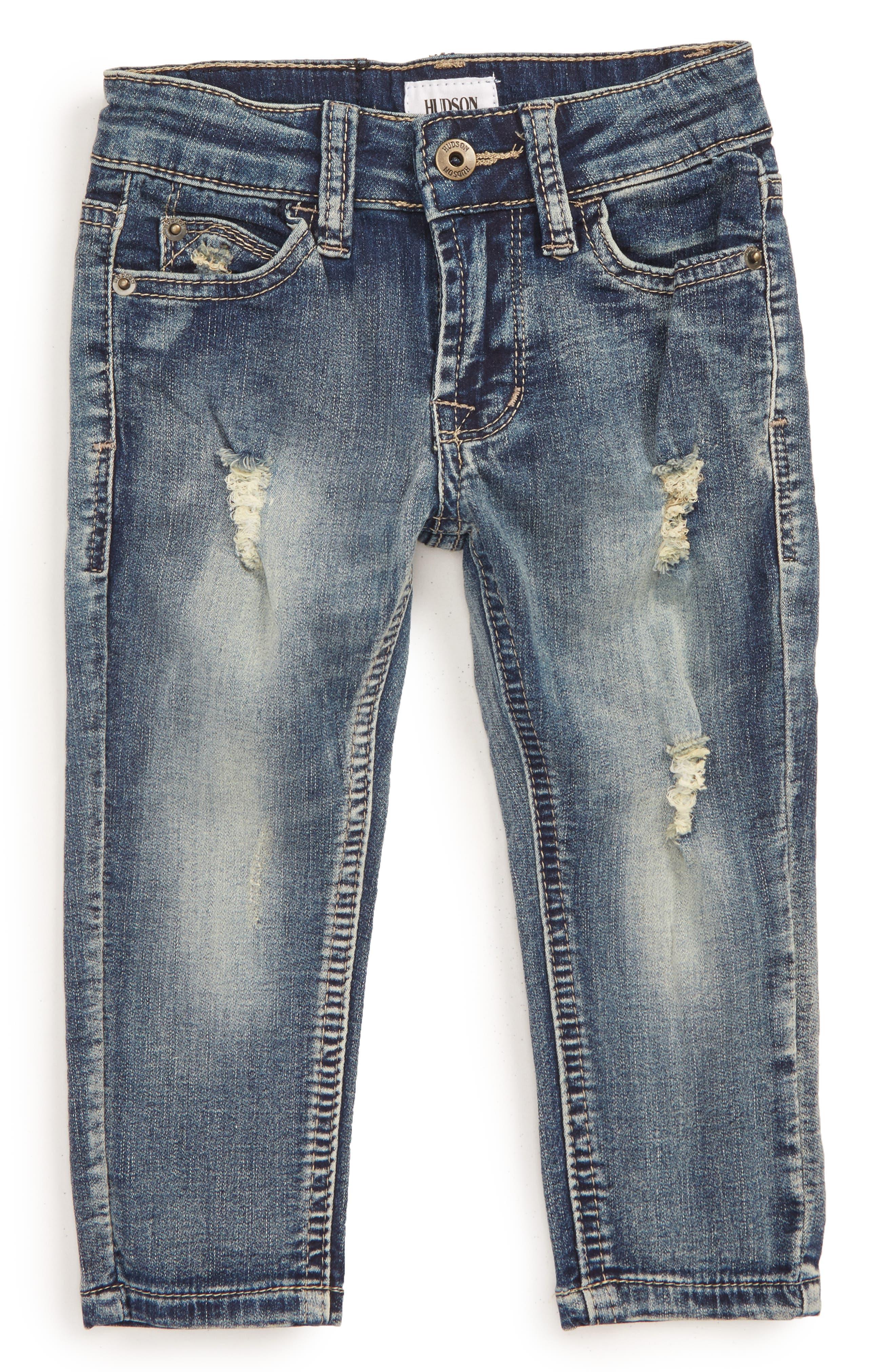 Main Image - Hudson Kids Jagger Slim Straight Leg Jeans (Baby Boys)