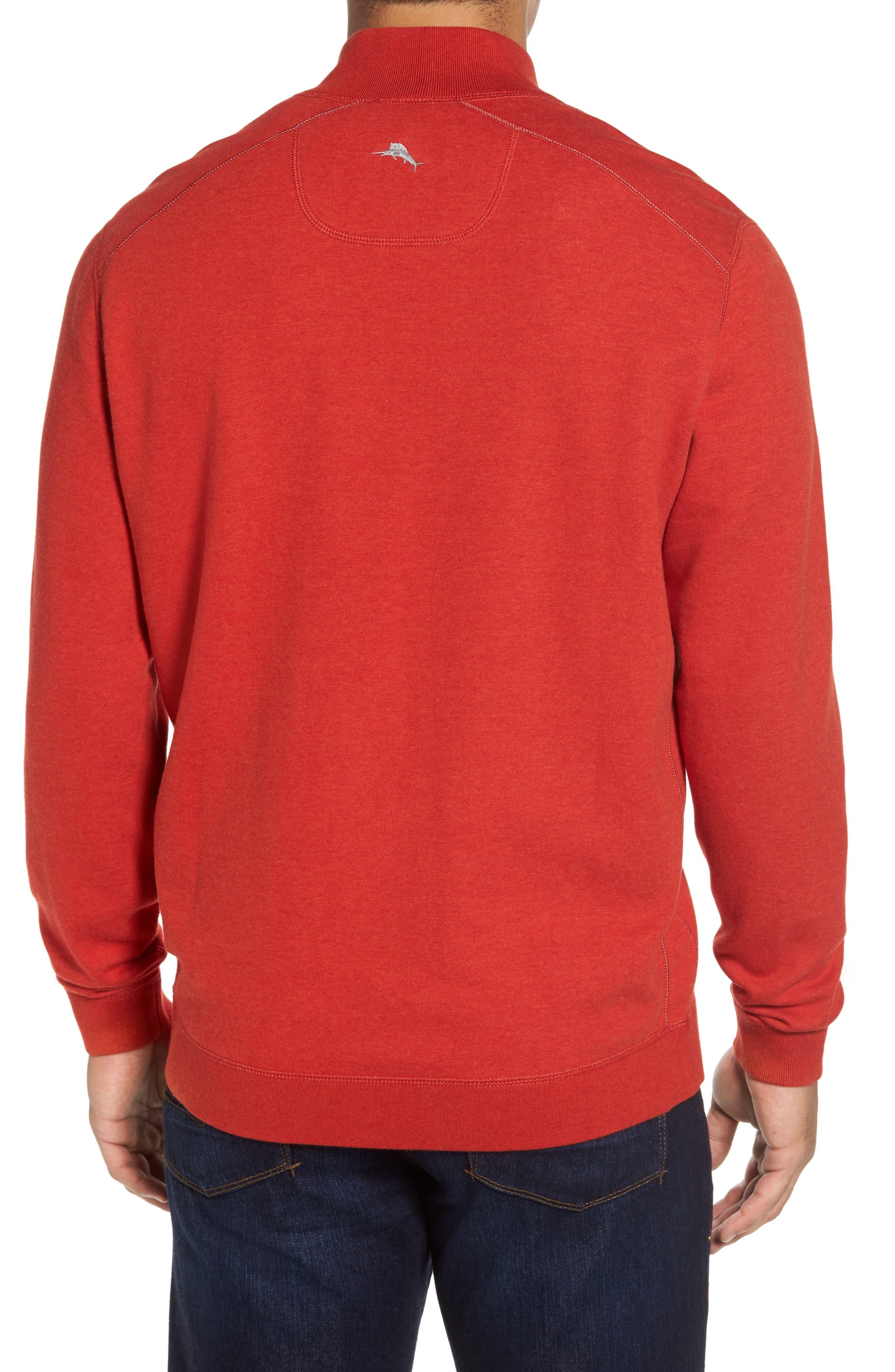 Alternate Image 3  - Tommy Bahama Flip Drive Quarter Zip Pullover
