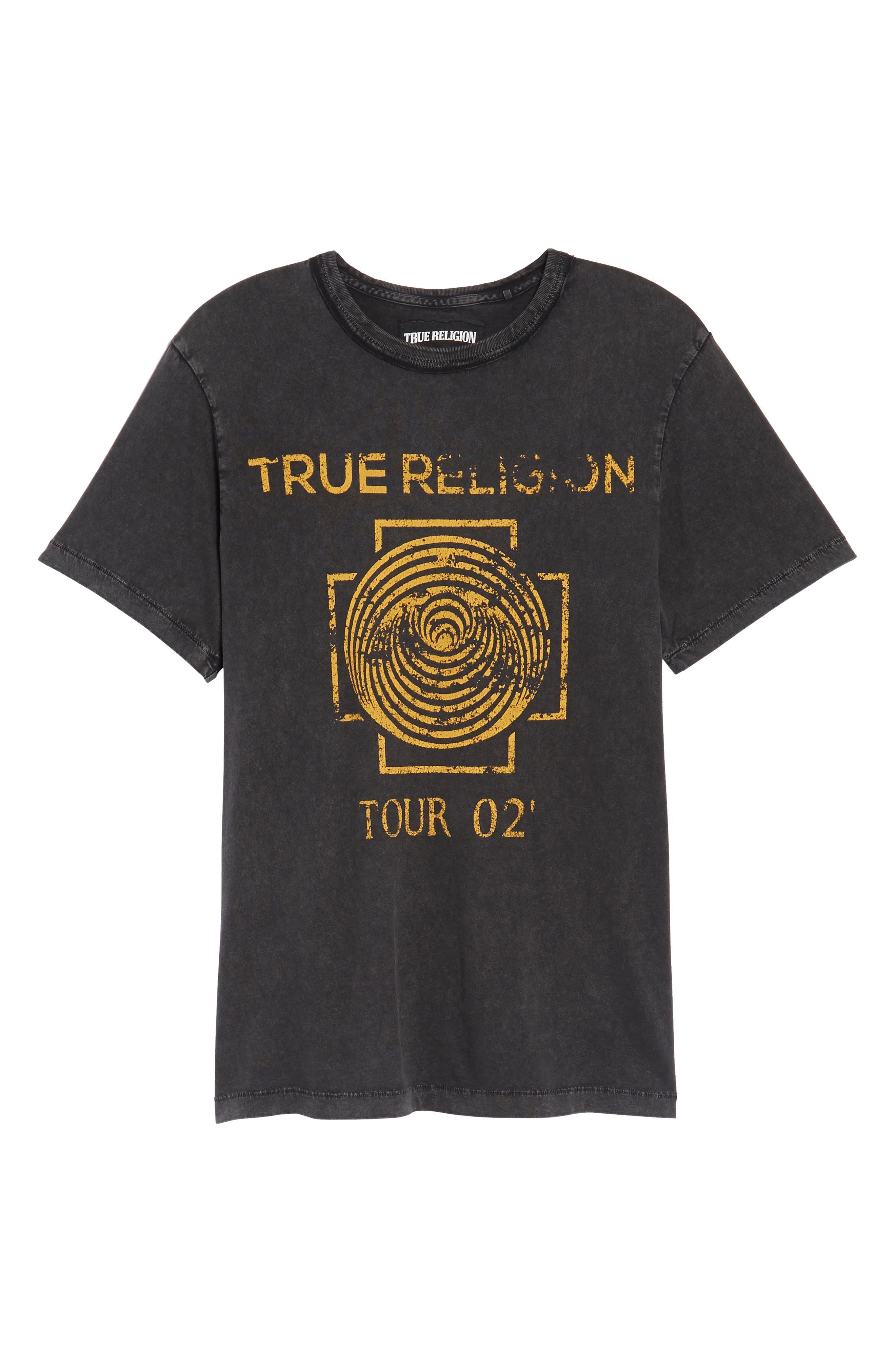 Dizzy Tour T-Shirt,                             Alternate thumbnail 6, color,                             Black