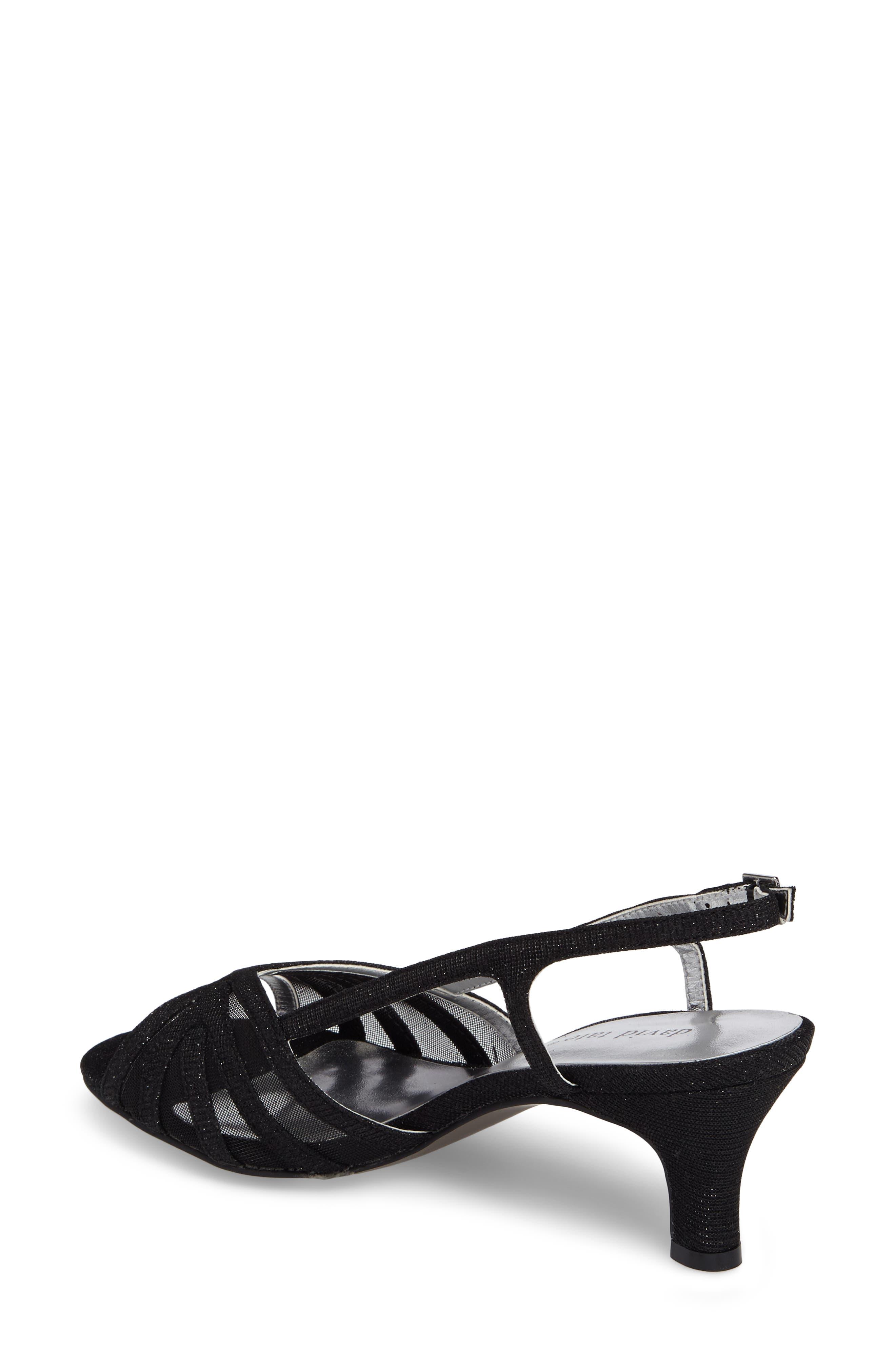 Ritz Slingback Sandal,                             Alternate thumbnail 2, color,                             Black