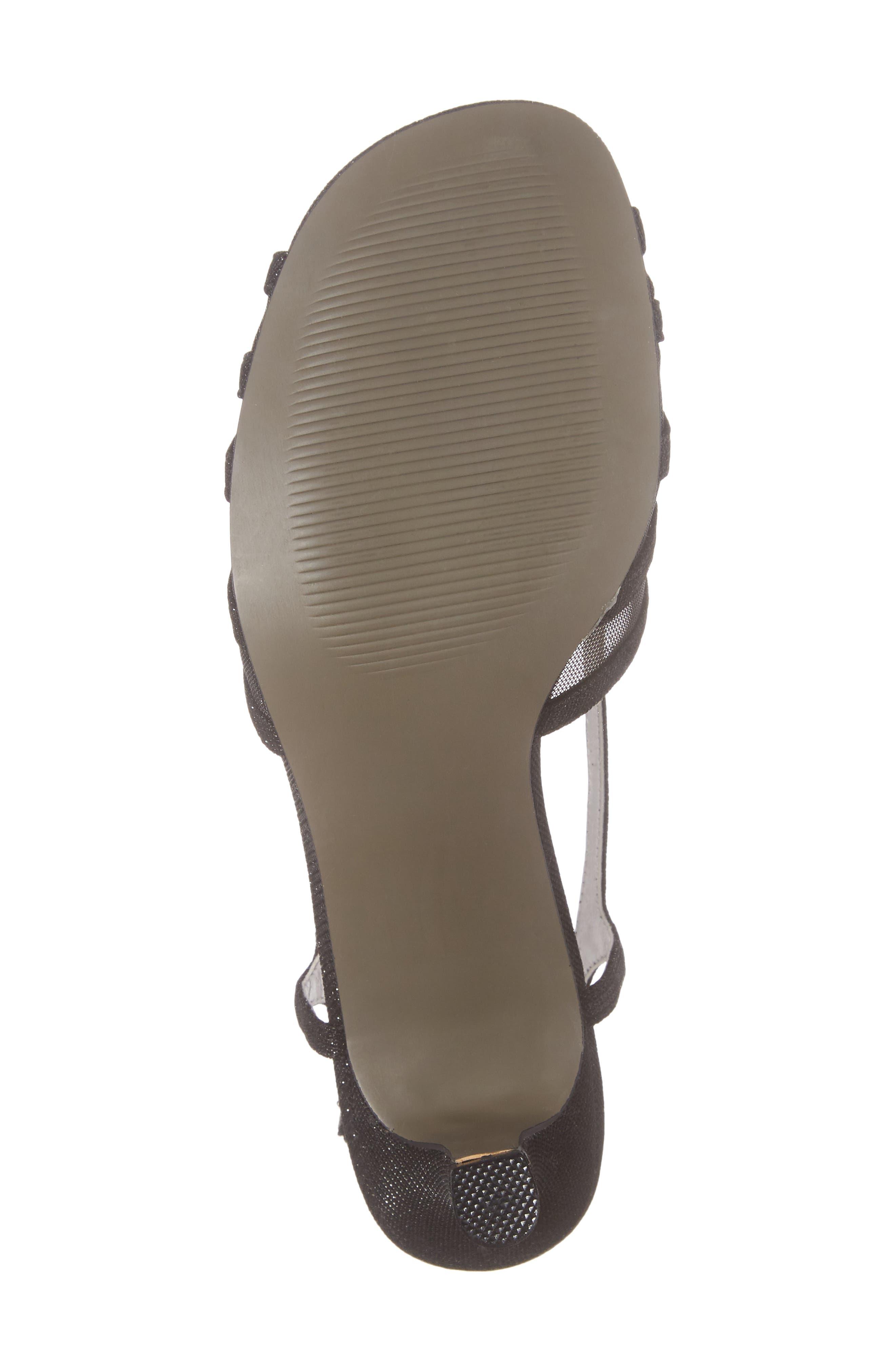 Ritz Slingback Sandal,                             Alternate thumbnail 7, color,                             Black