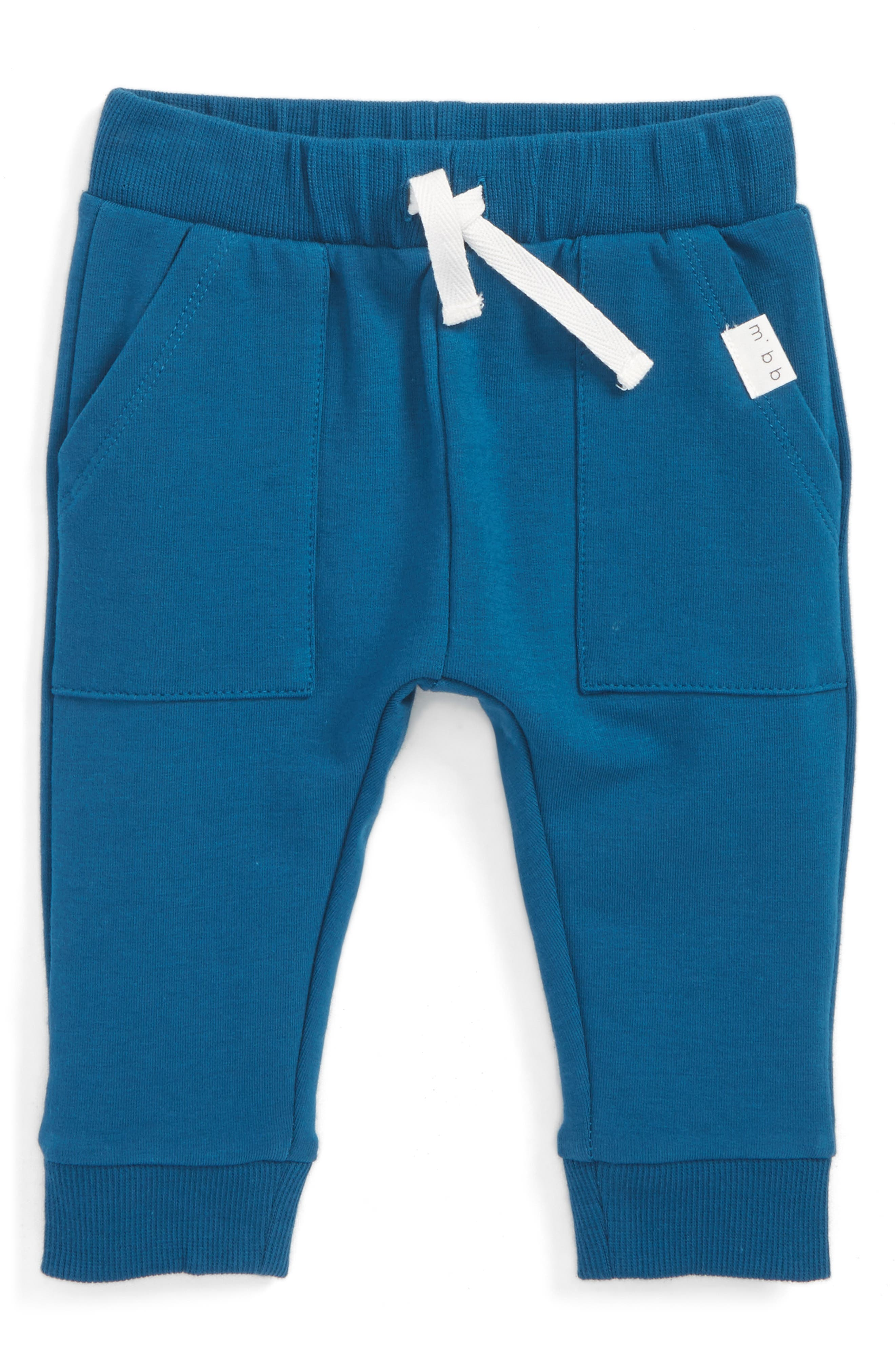 Alternate Image 1 Selected - Miles Baby Knit Jogger Pants (Baby Boys)